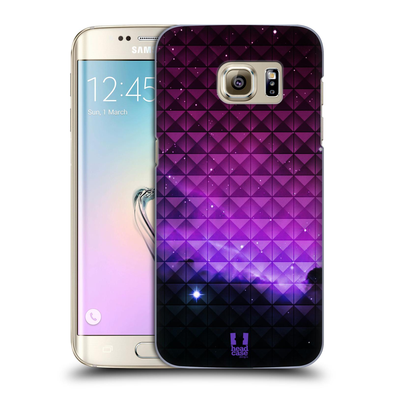 Plastové pouzdro na mobil Samsung Galaxy S7 Edge HEAD CASE PURPLE HAZE (Kryt či obal na mobilní telefon Samsung Galaxy S7 Edge SM-G935F)