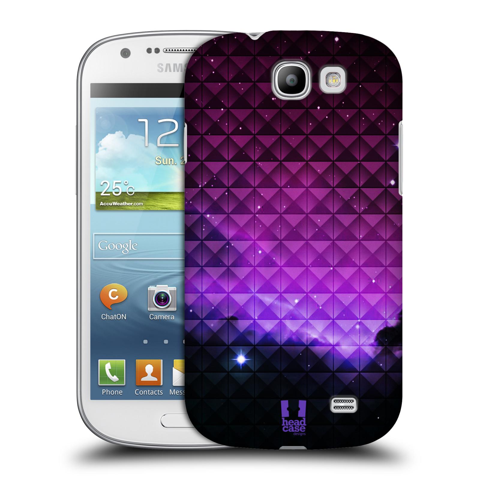 Plastové pouzdro na mobil Samsung Galaxy Express HEAD CASE PURPLE HAZE (Kryt či obal na mobilní telefon Samsung Galaxy Express GT-i8730)