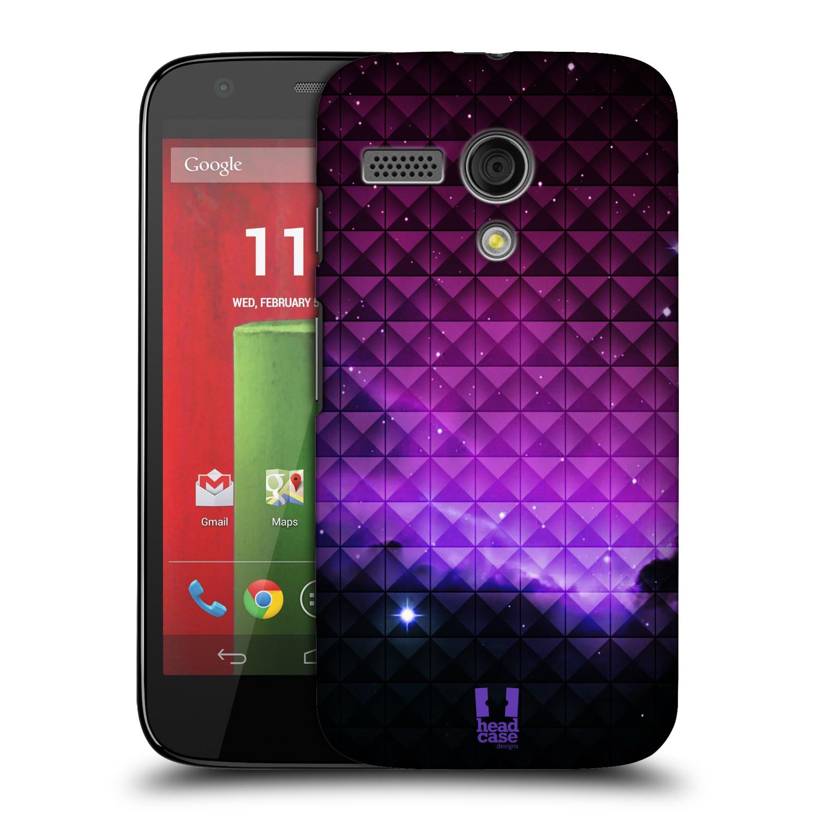Plastové pouzdro na mobil Motorola Moto G HEAD CASE PURPLE HAZE (Kryt či obal na mobilní telefon Motorola Moto G)