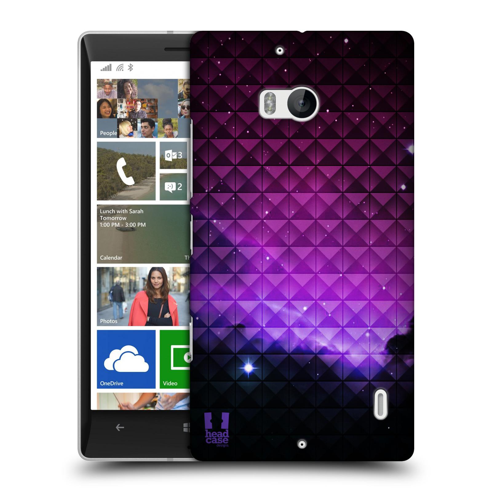Plastové pouzdro na mobil Nokia Lumia 930 HEAD CASE PURPLE HAZE (Kryt či obal na mobilní telefon Nokia Lumia 930)