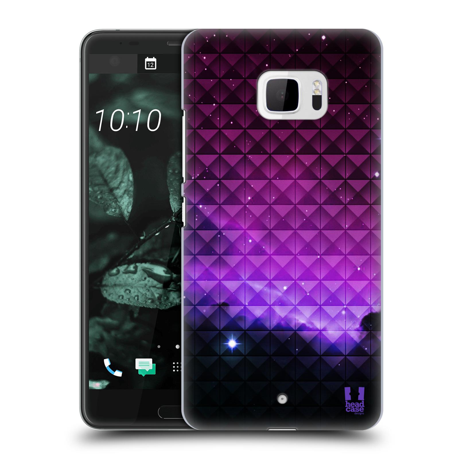 Plastové pouzdro na mobil HTC U Ultra Head Case - PURPLE HAZE (Plastový kryt či obal na mobilní telefon HTC U Ultra (99HALT015-00))