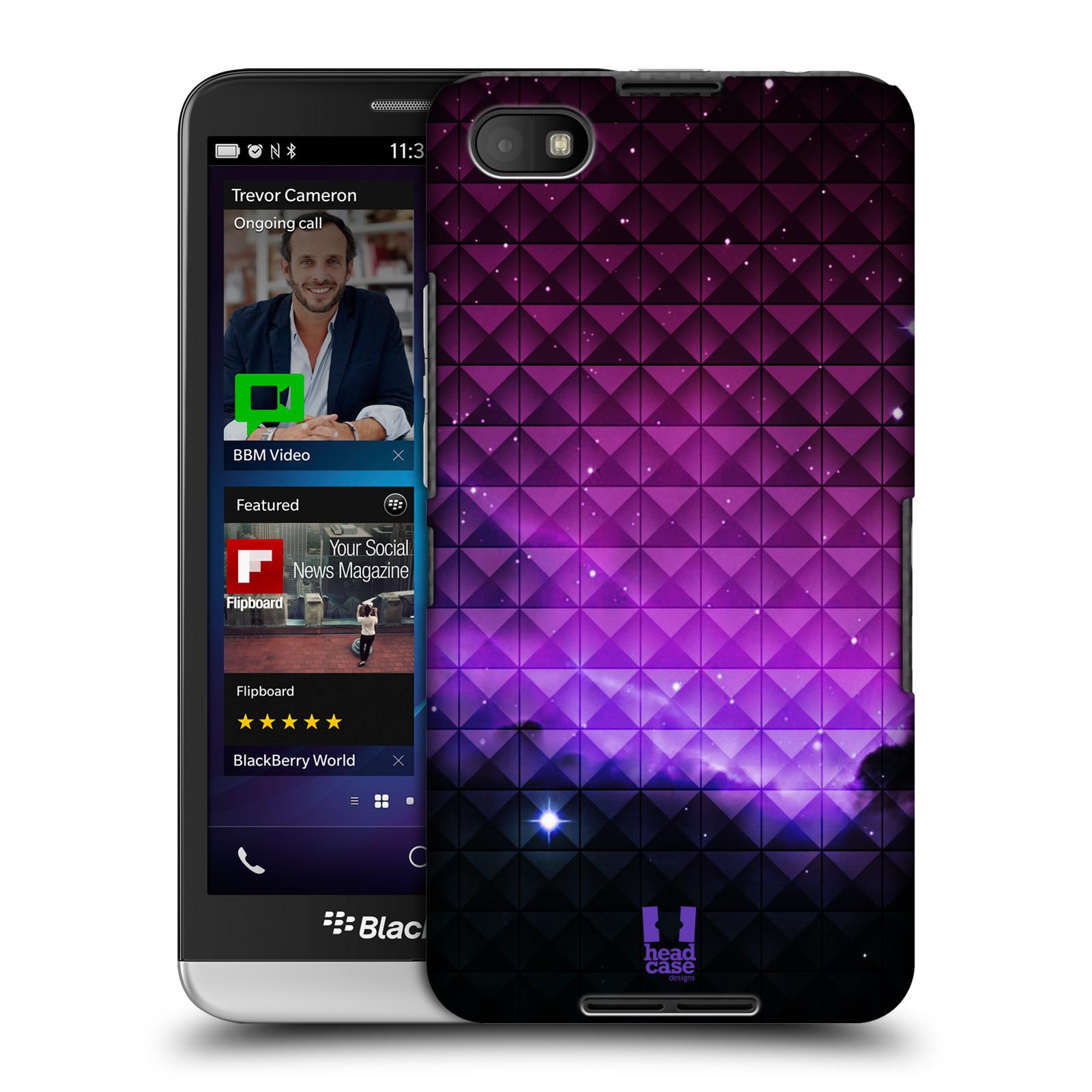 Plastové pouzdro na mobil Blackberry Z30 HEAD CASE PURPLE HAZE (Kryt či obal na mobilní telefon Blackberry Z30)