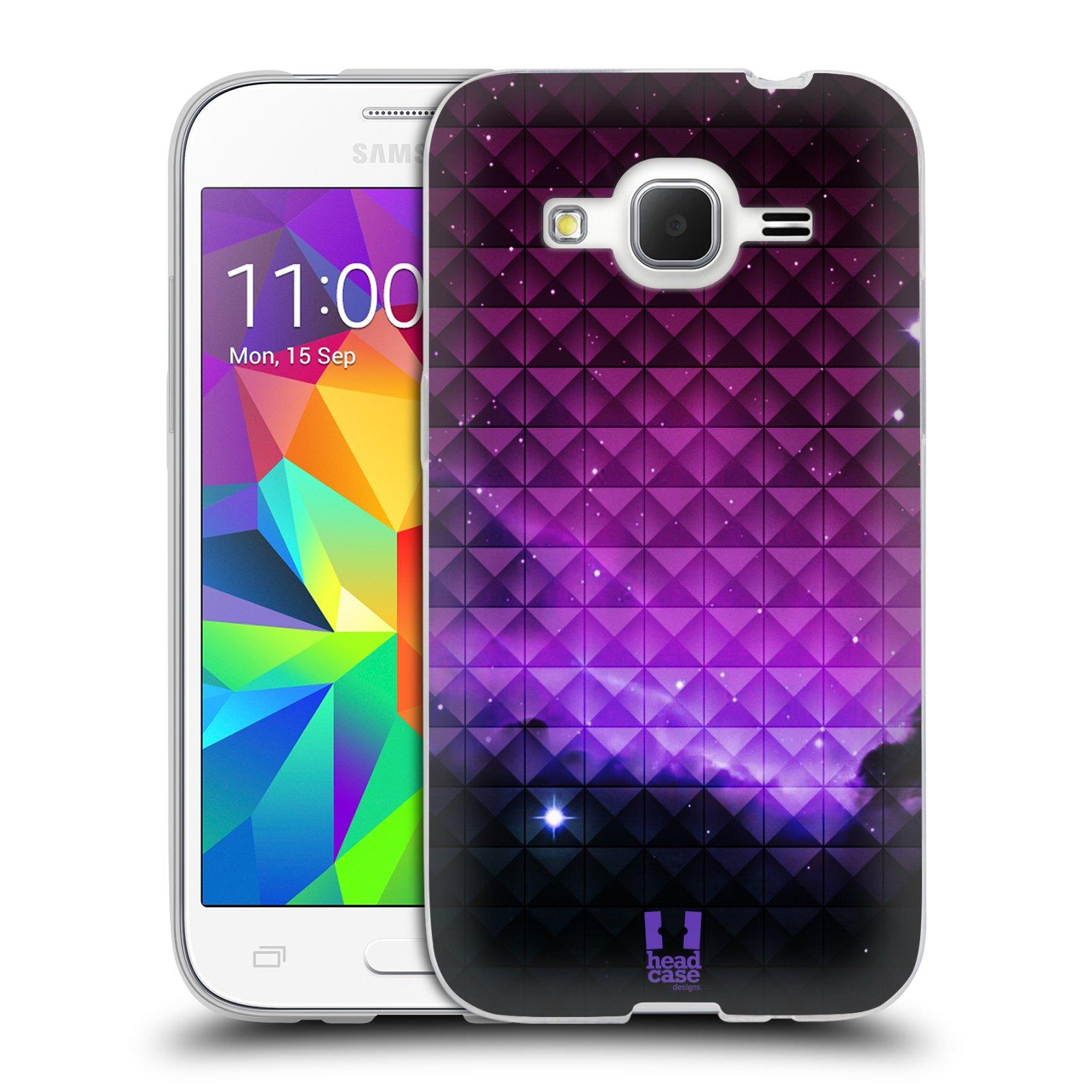 Silikonové pouzdro na mobil Samsung Galaxy Core Prime LTE HEAD CASE PURPLE HAZE (Silikonový kryt či obal na mobilní telefon Samsung Galaxy Core Prime LTE SM-G360)
