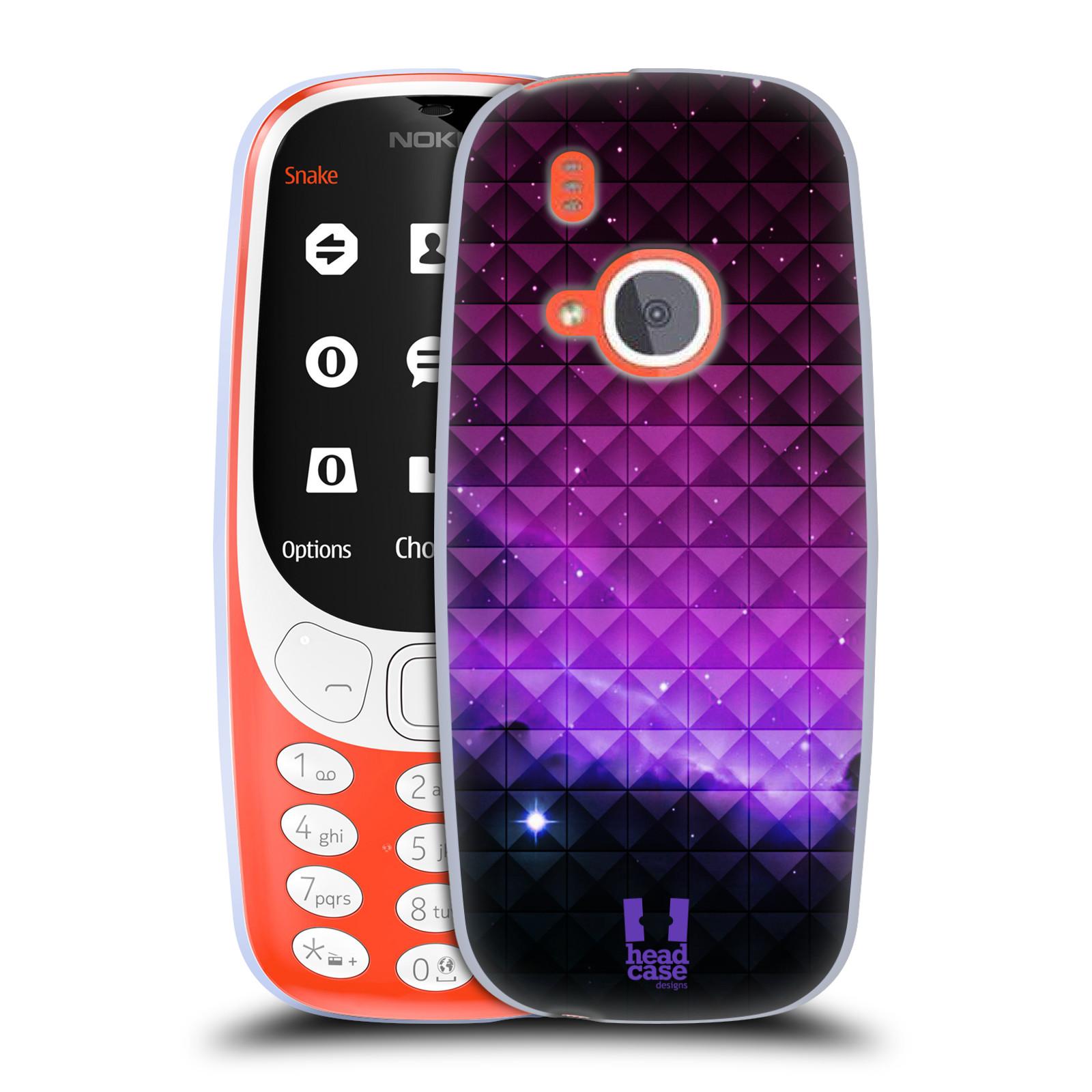 Silikonové pouzdro na mobil Nokia 3310 - Head Case - PURPLE HAZE (Silikonový kryt či obal na mobilní telefon Nokia 3310 (2017) s motivem PURPLE HAZE)