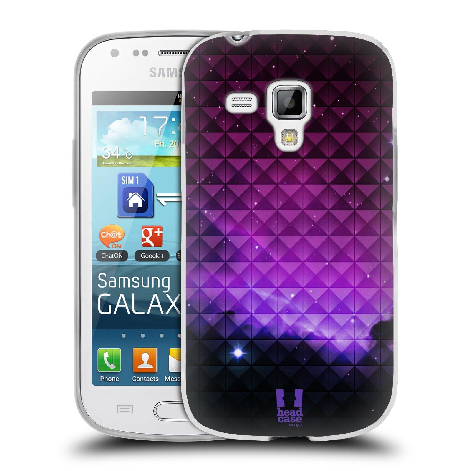Silikonové pouzdro na mobil Samsung Galaxy S Duos 2 HEAD CASE PURPLE HAZE (Silikonový kryt či obal na mobilní telefon Samsung Galaxy S Duos 2 GT-S7582)