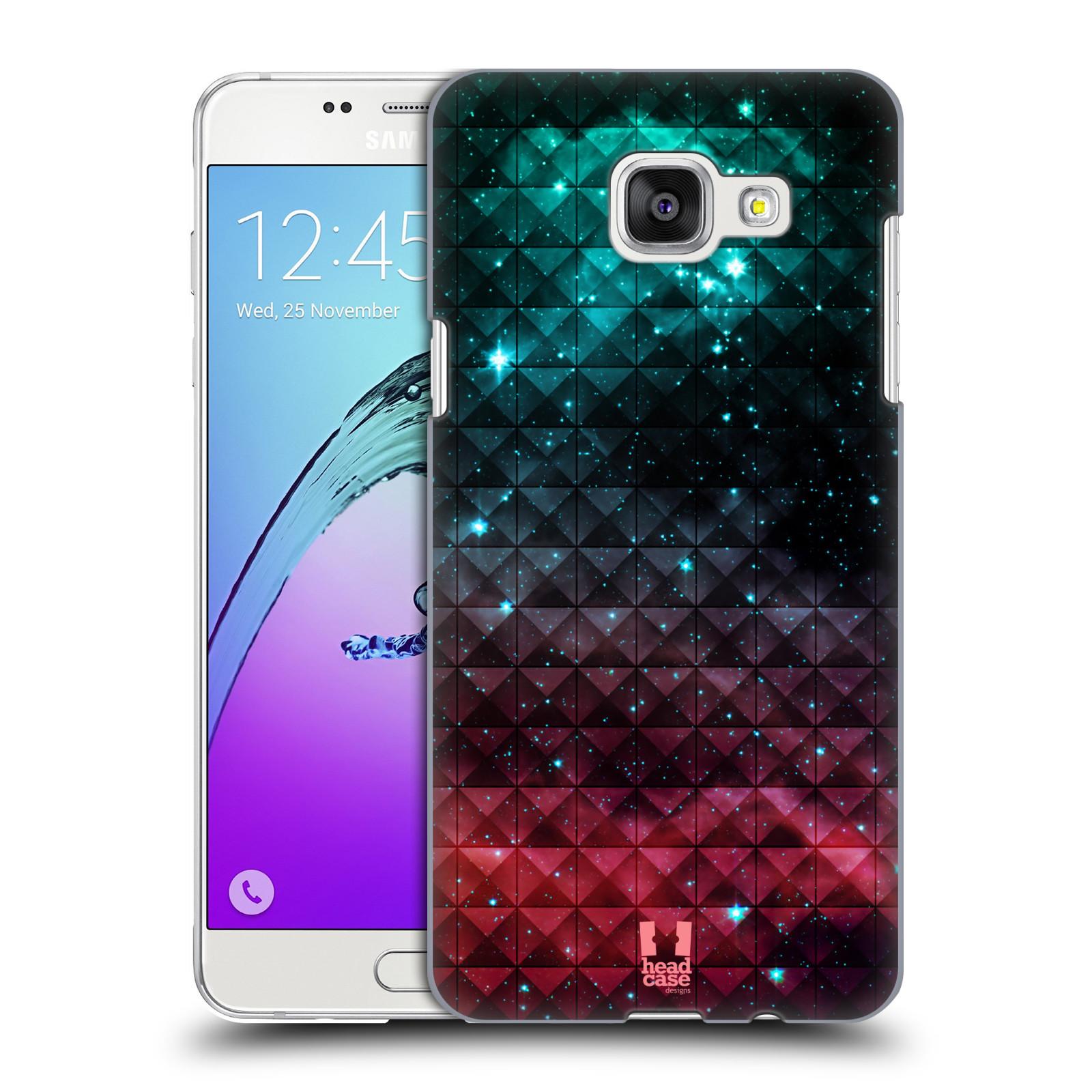 Plastové pouzdro na mobil Samsung Galaxy A5 (2016) HEAD CASE OMBRE SPARKLE