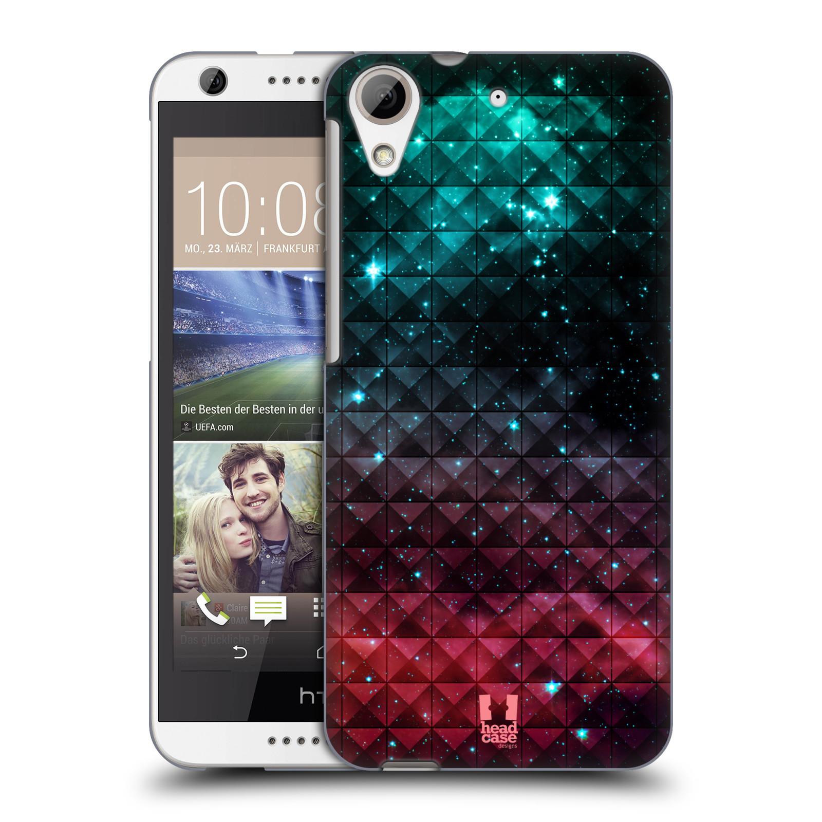 Plastové pouzdro na mobil HTC Desire 626 / 626G HEAD CASE OMBRE SPARKLE (Kryt či obal na mobilní telefon HTC Desire 626G Dual SIM a HTC Desire 626)