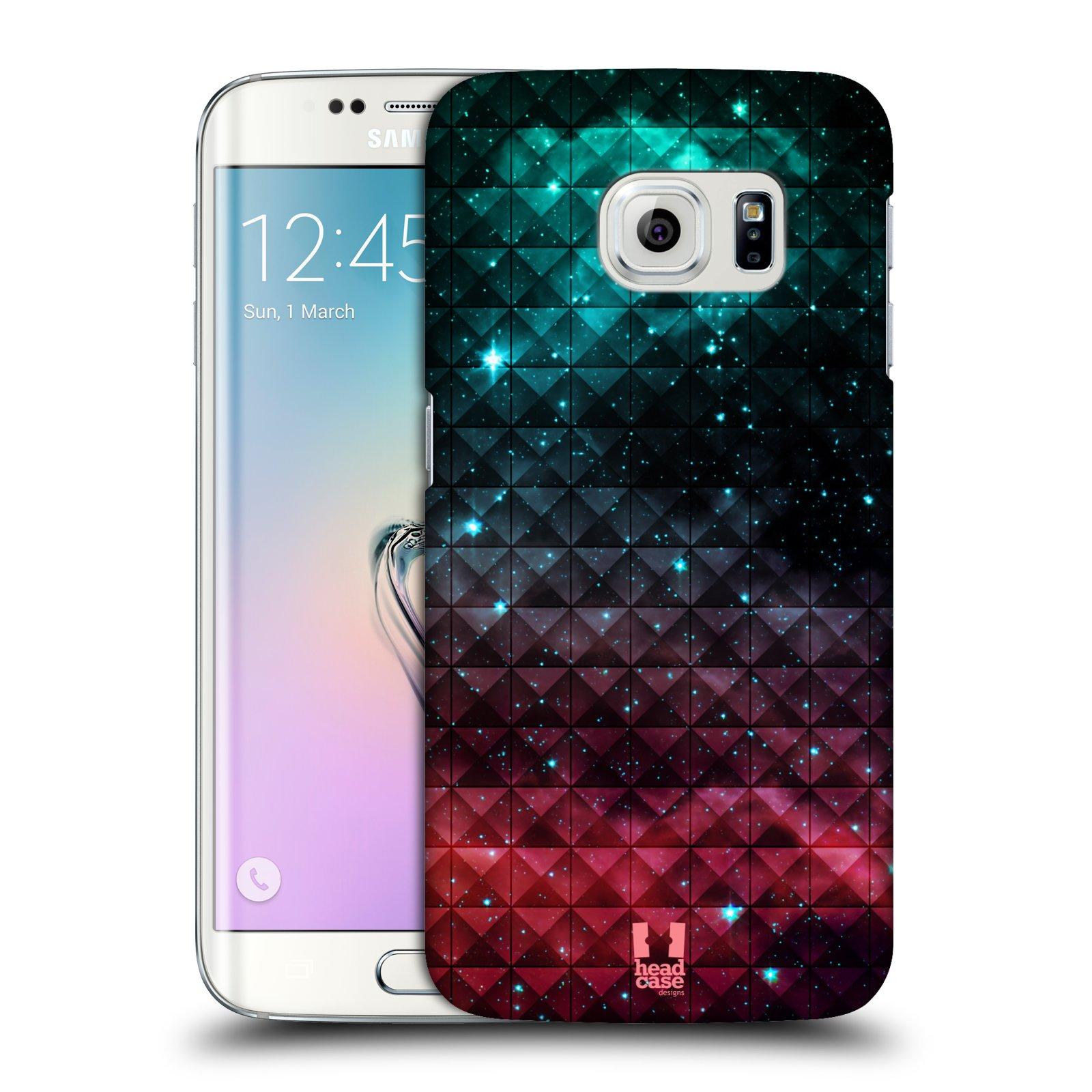 Plastové pouzdro na mobil Samsung Galaxy S6 Edge HEAD CASE OMBRE SPARKLE (Kryt či obal na mobilní telefon Samsung Galaxy S6 Edge SM-G925F)