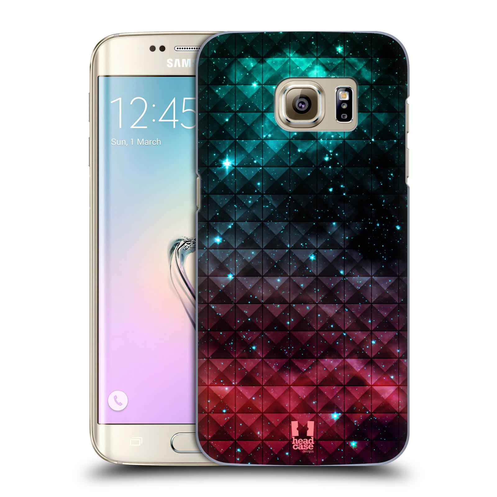 Plastové pouzdro na mobil Samsung Galaxy S7 Edge HEAD CASE OMBRE SPARKLE (Kryt či obal na mobilní telefon Samsung Galaxy S7 Edge SM-G935F)