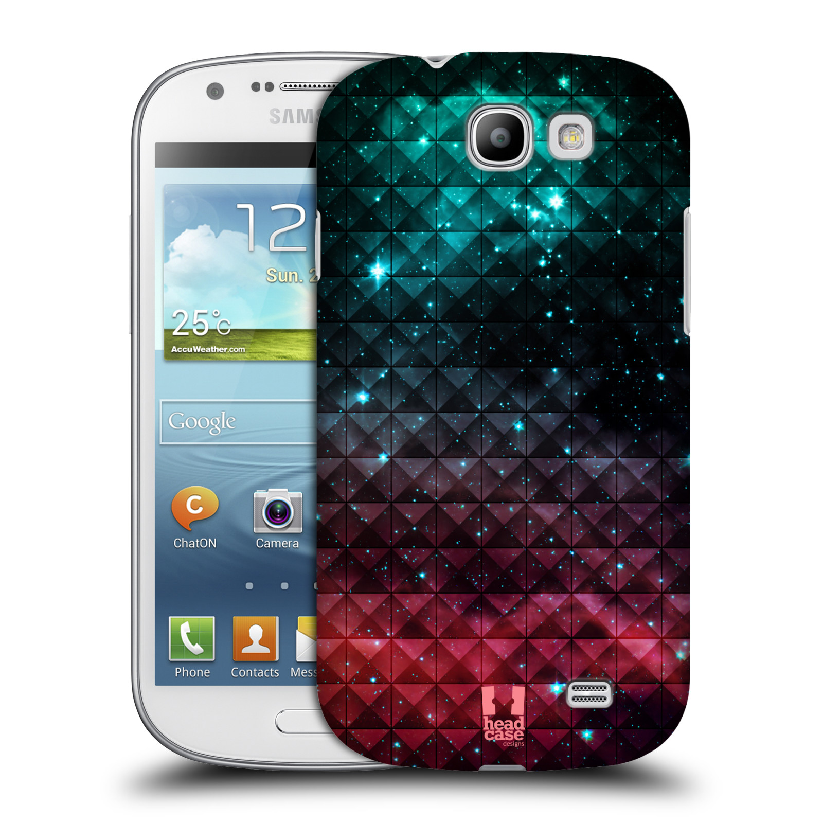 Plastové pouzdro na mobil Samsung Galaxy Express HEAD CASE OMBRE SPARKLE (Kryt či obal na mobilní telefon Samsung Galaxy Express GT-i8730)