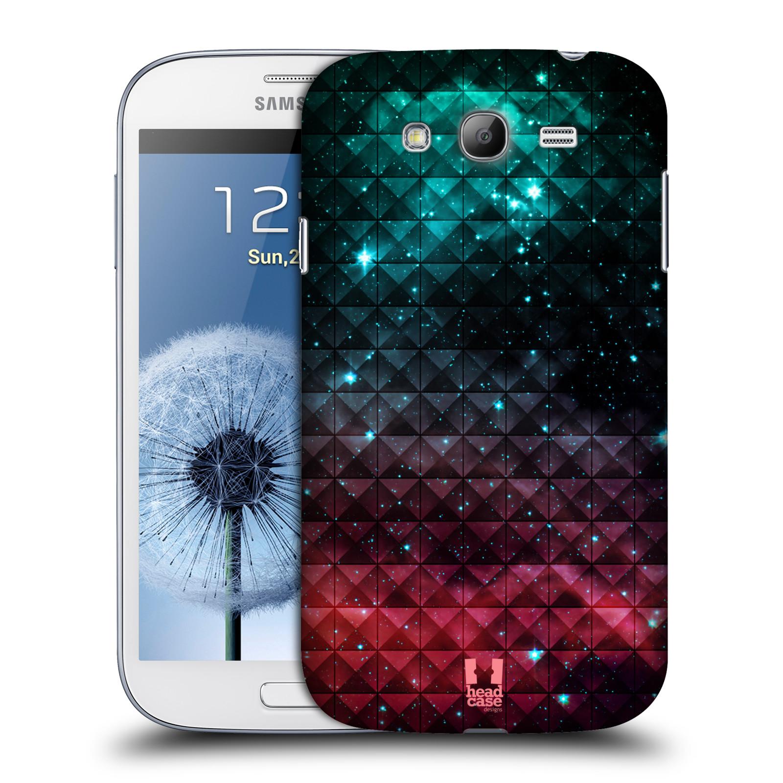 Plastové pouzdro na mobil Samsung Galaxy Grand Neo Plus HEAD CASE OMBRE SPARKLE (Kryt či obal na mobilní telefon Samsung Galaxy Grand Neo Plus GT-i9060i)