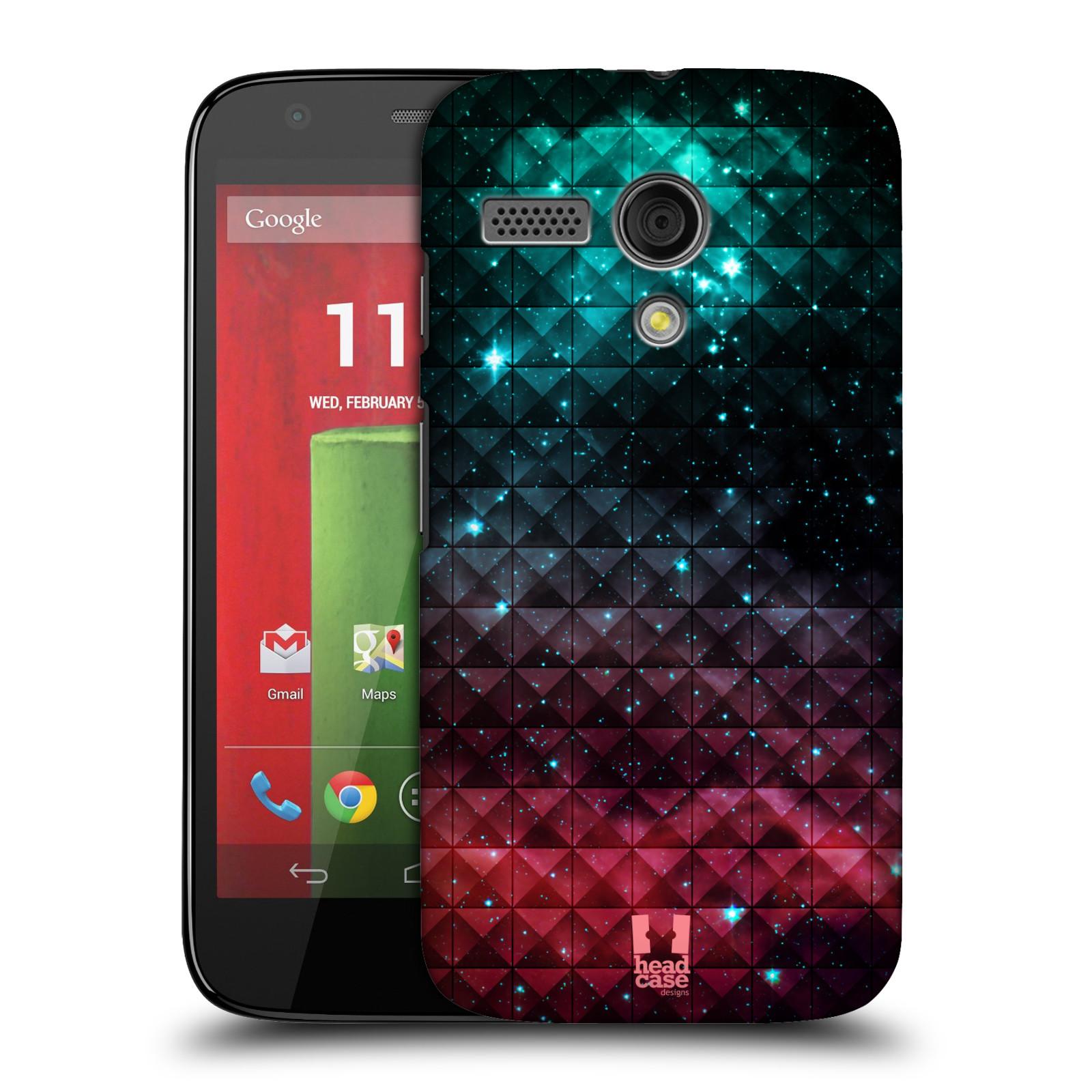 Plastové pouzdro na mobil Motorola Moto G HEAD CASE OMBRE SPARKLE (Kryt či obal na mobilní telefon Motorola Moto G)