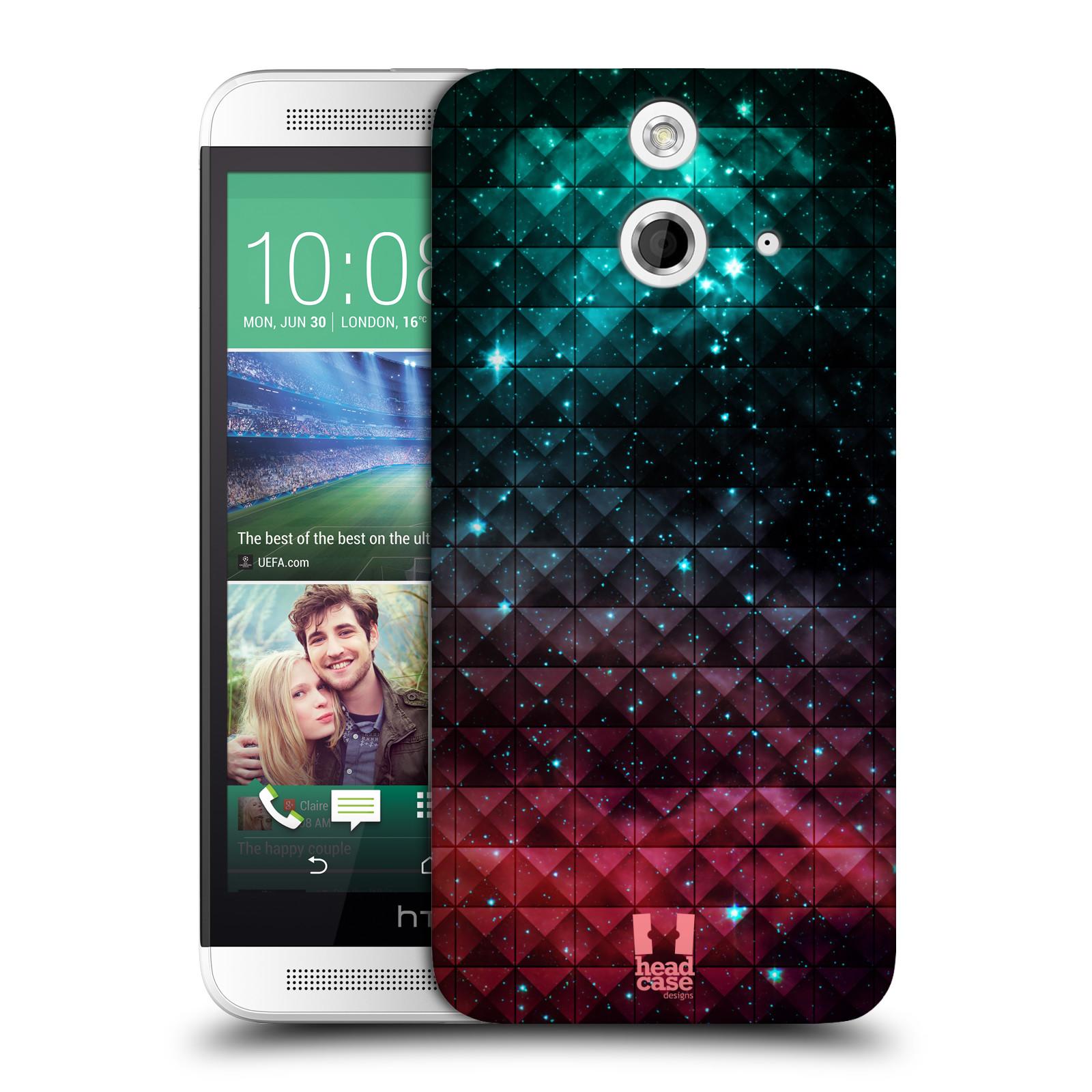 Plastové pouzdro na mobil HTC ONE E8 HEAD CASE OMBRE SPARKLE (Kryt či obal na mobilní telefon HTC ONE E8)