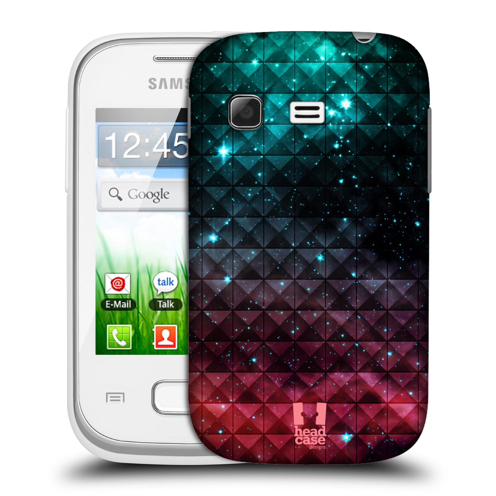 Plastové pouzdro na mobil Samsung Galaxy Pocket HEAD CASE OMBRE SPARKLE (Kryt či obal na mobilní telefon Samsung Galaxy Pocket GT-S5300)