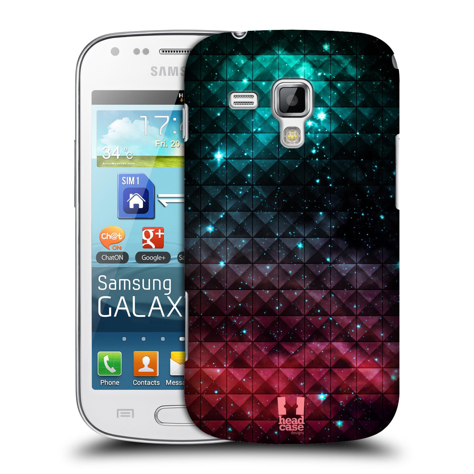 Plastové pouzdro na mobil Samsung Galaxy S Duos HEAD CASE OMBRE SPARKLE (Kryt či obal na mobilní telefon Samsung Galaxy S Duos GT-S7562)