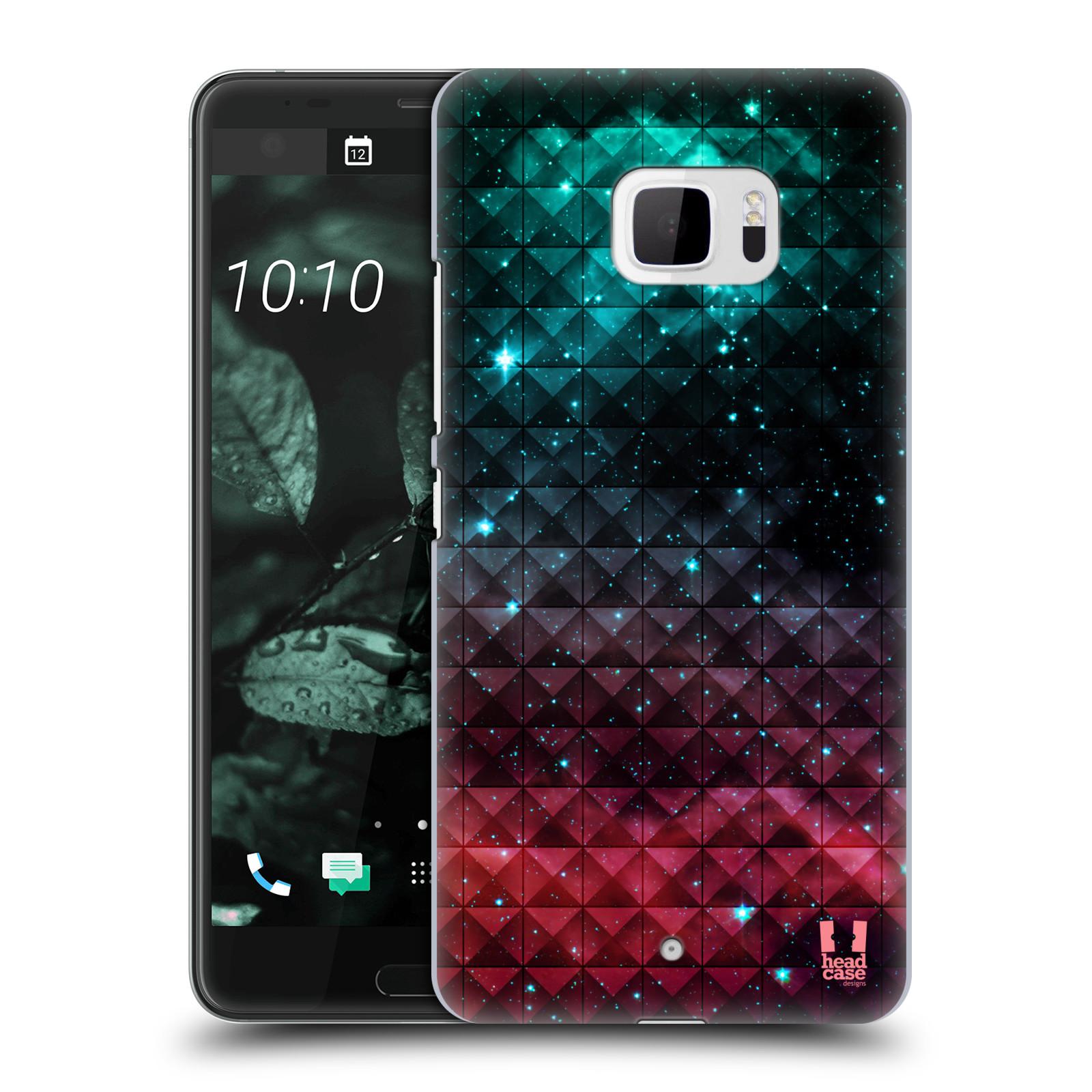 Plastové pouzdro na mobil HTC U Ultra Head Case - OMBRE SPARKLE (Plastový kryt či obal na mobilní telefon HTC U Ultra (99HALT015-00))