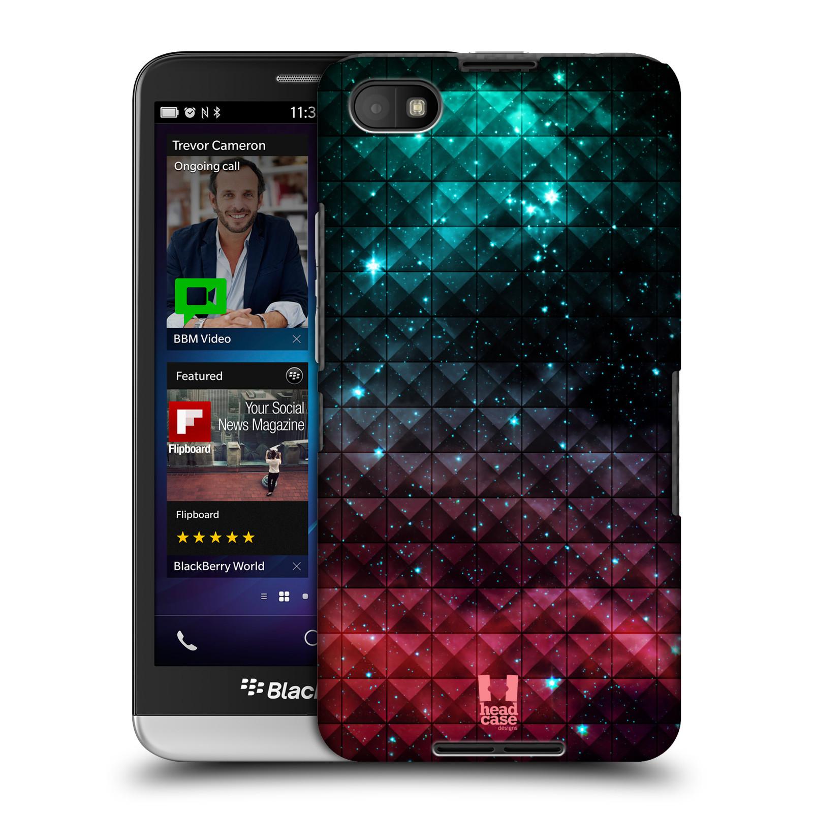 Plastové pouzdro na mobil Blackberry Z30 HEAD CASE OMBRE SPARKLE (Kryt či obal na mobilní telefon Blackberry Z30)