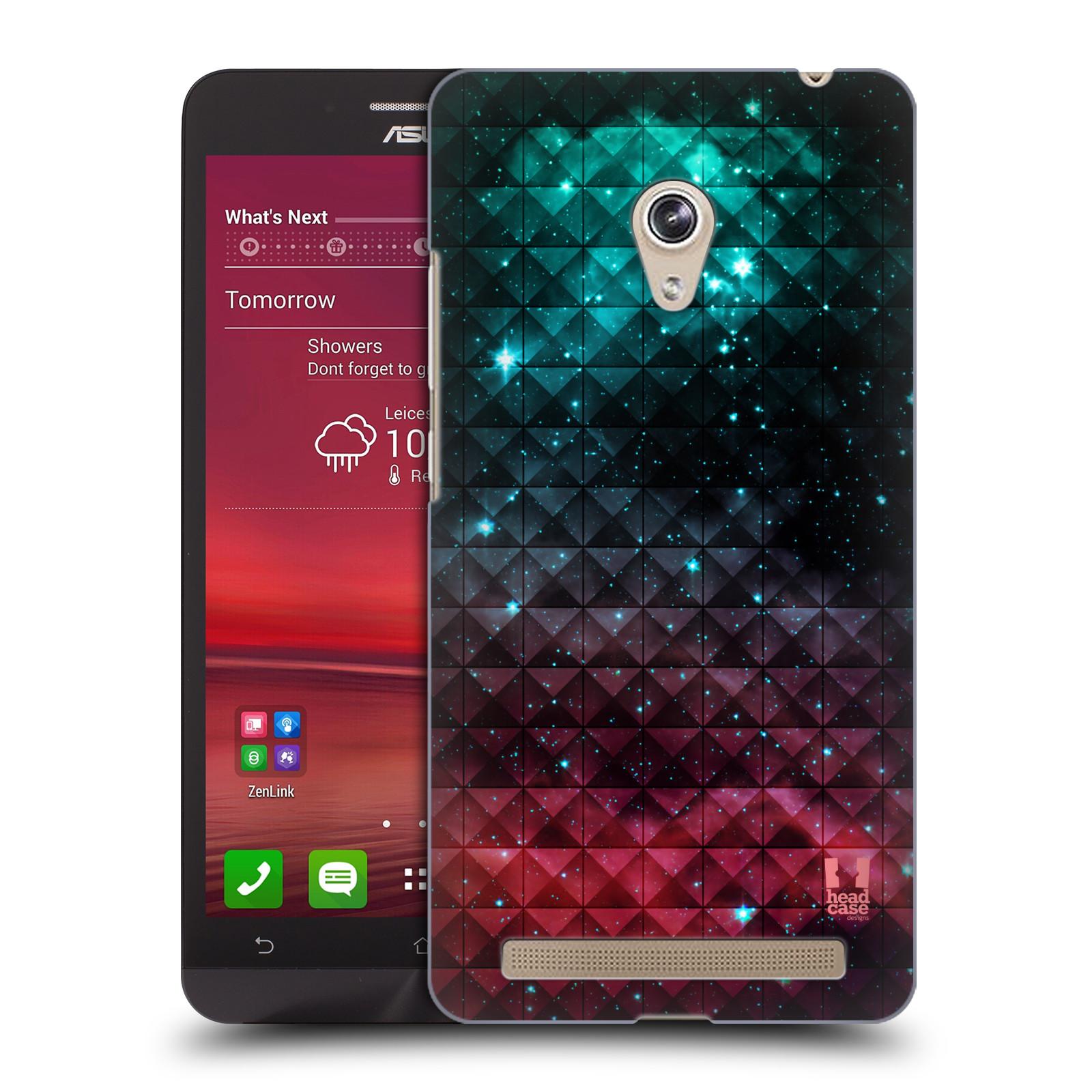 Plastové pouzdro na mobil Asus Zenfone 6 HEAD CASE OMBRE SPARKLE