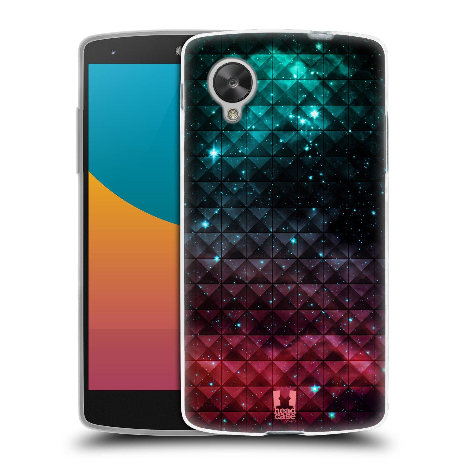 Silikonové pouzdro na mobil LG Nexus 5 HEAD CASE OMBRE SPARKLE (Silikonový kryt či obal na mobilní telefon LG Google Nexus 5 D821)