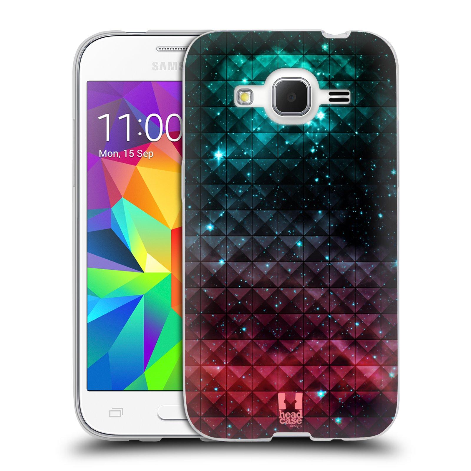Silikonové pouzdro na mobil Samsung Galaxy Core Prime LTE HEAD CASE OMBRE SPARKLE (Silikonový kryt či obal na mobilní telefon Samsung Galaxy Core Prime LTE SM-G360)