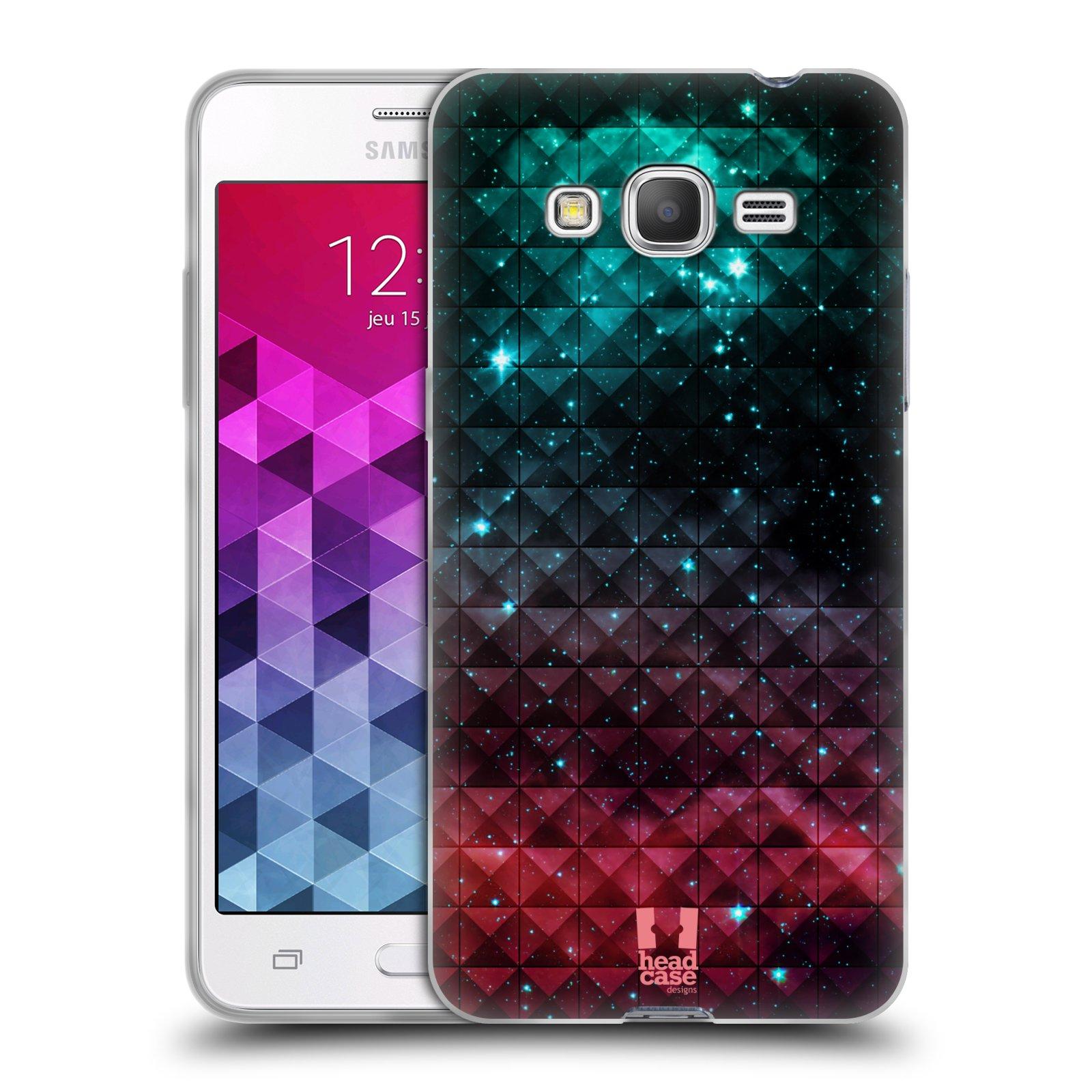 Silikonové pouzdro na mobil Samsung Galaxy Grand Prime VE HEAD CASE OMBRE SPARKLE