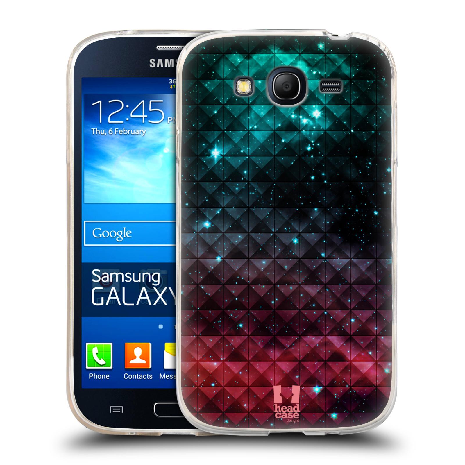 Silikonové pouzdro na mobil Samsung Galaxy Grand Neo HEAD CASE OMBRE SPARKLE (Silikonový kryt či obal na mobilní telefon Samsung Galaxy Grand Neo GT-I9060)