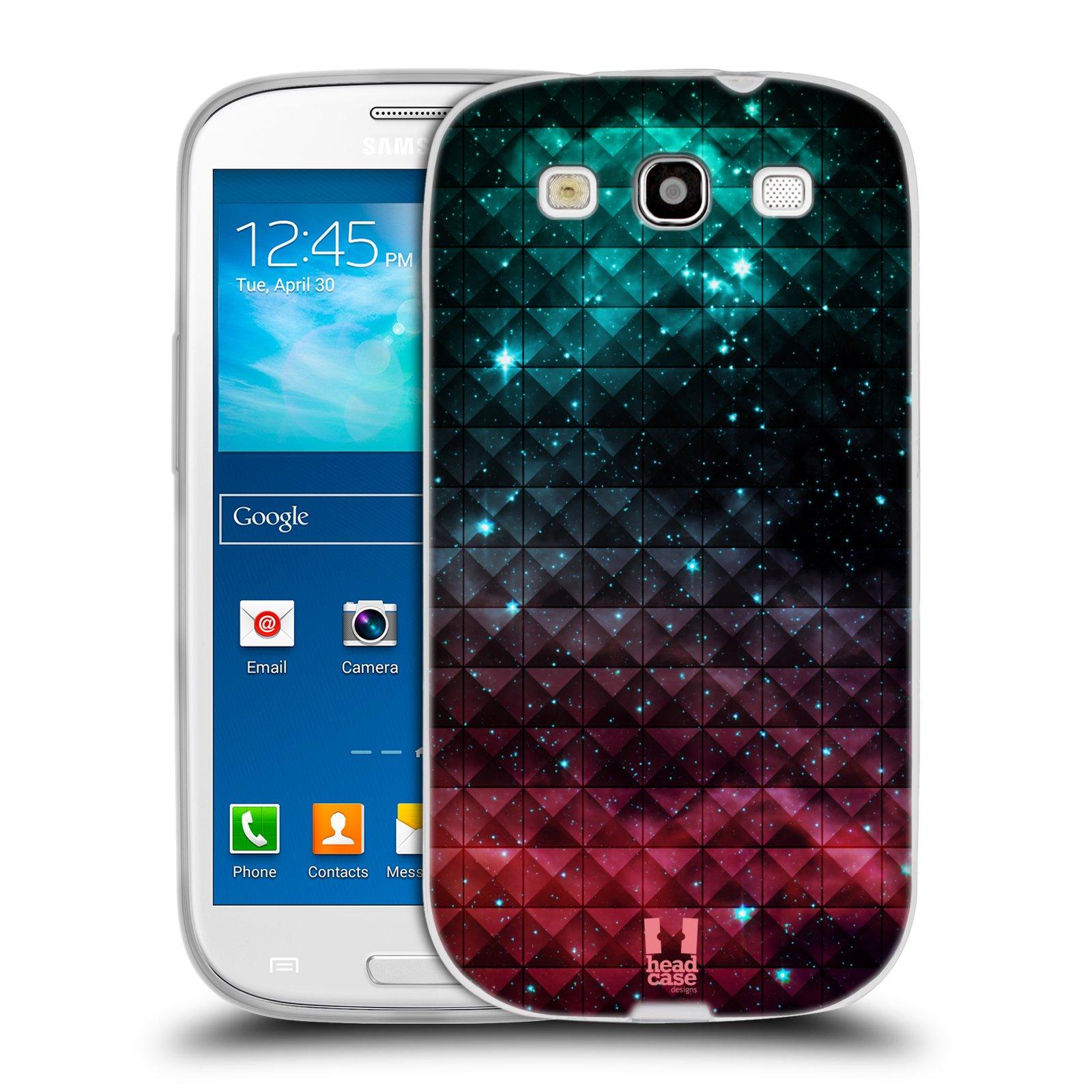Silikonové pouzdro na mobil Samsung Galaxy S3 Neo HEAD CASE OMBRE SPARKLE (Silikonový kryt či obal na mobilní telefon Samsung Galaxy S3 Neo GT-i9301i)