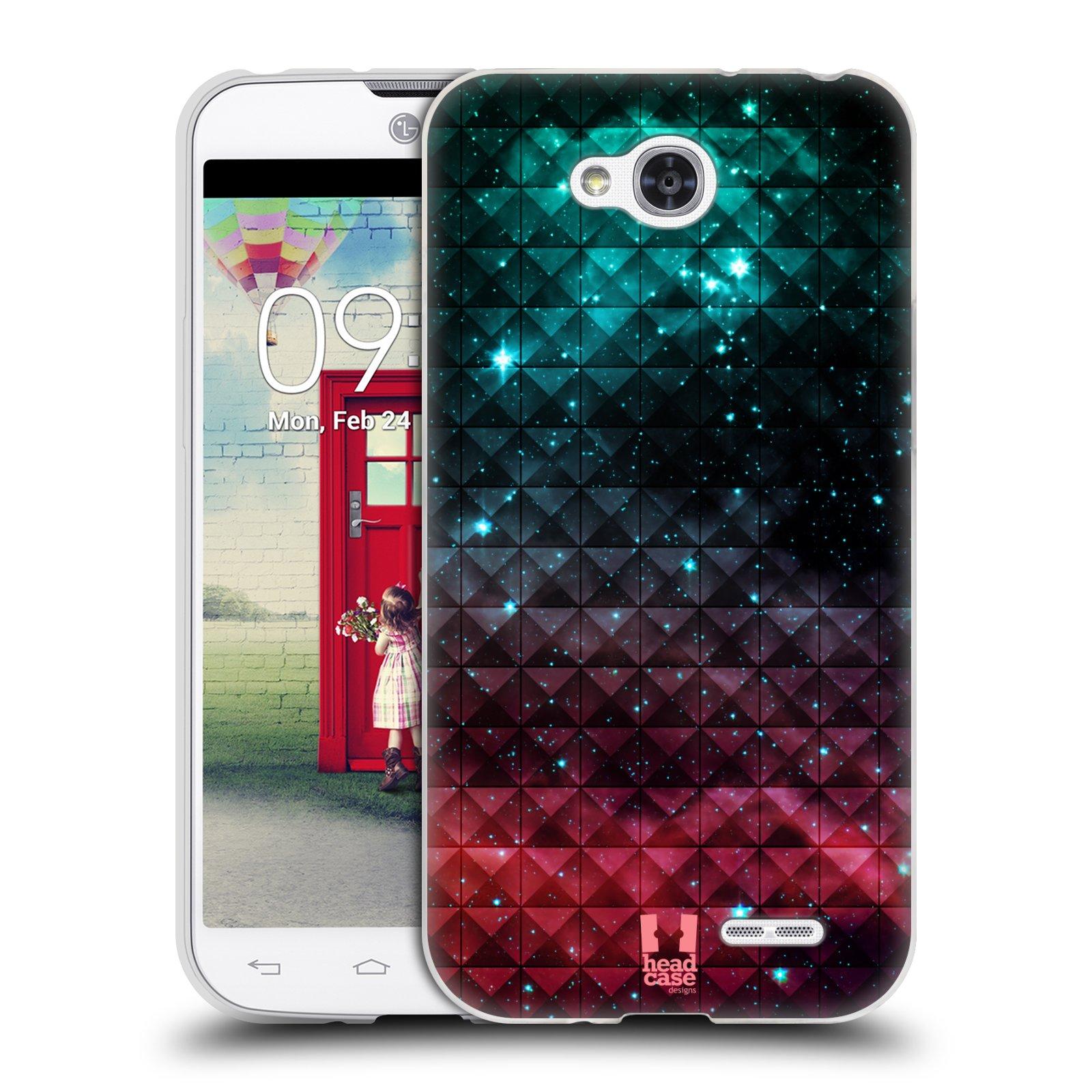 Silikonové pouzdro na mobil LG L90 HEAD CASE OMBRE SPARKLE (Silikonový kryt či obal na mobilní telefon LG L90 D405n)
