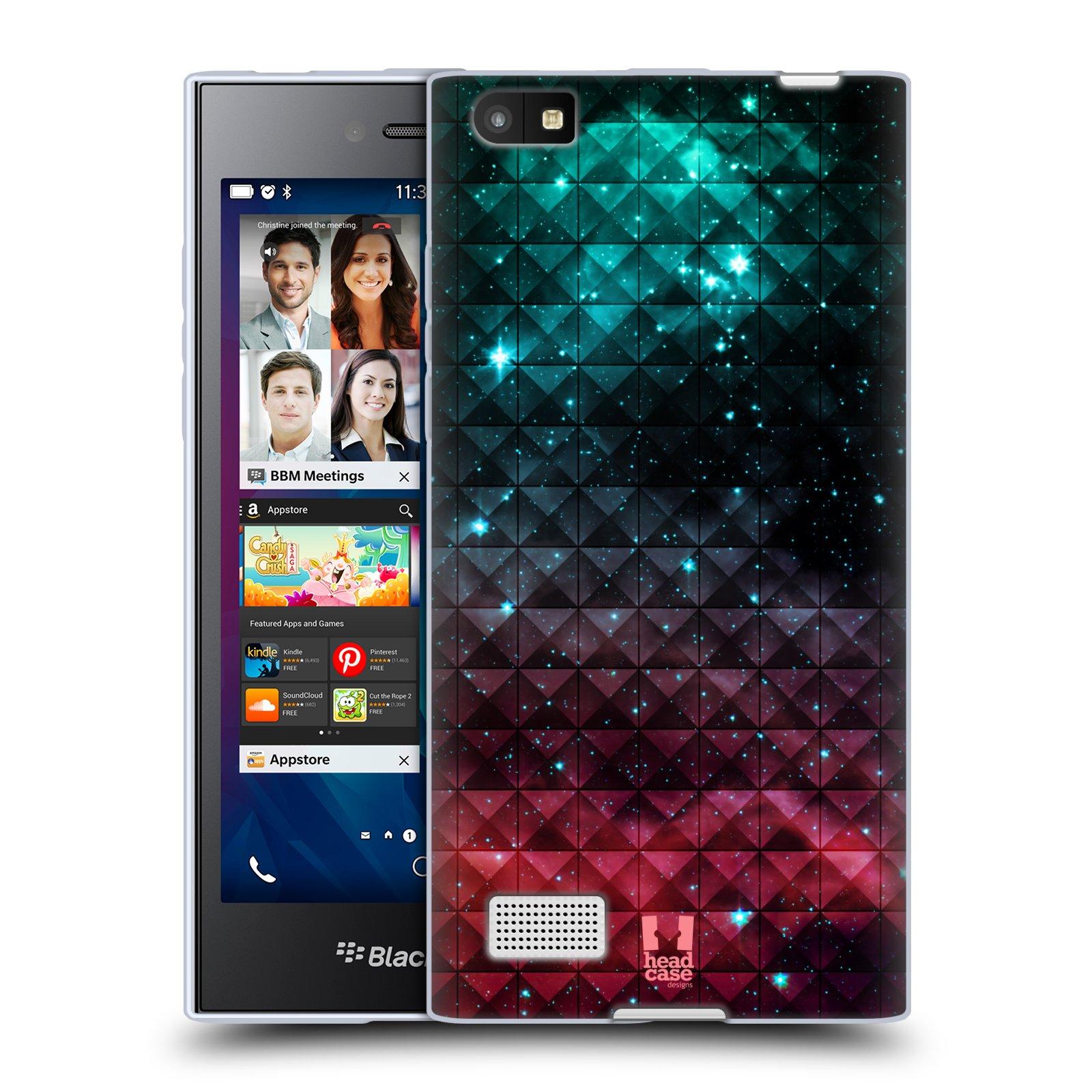 Silikonové pouzdro na mobil Blackberry Leap HEAD CASE OMBRE SPARKLE