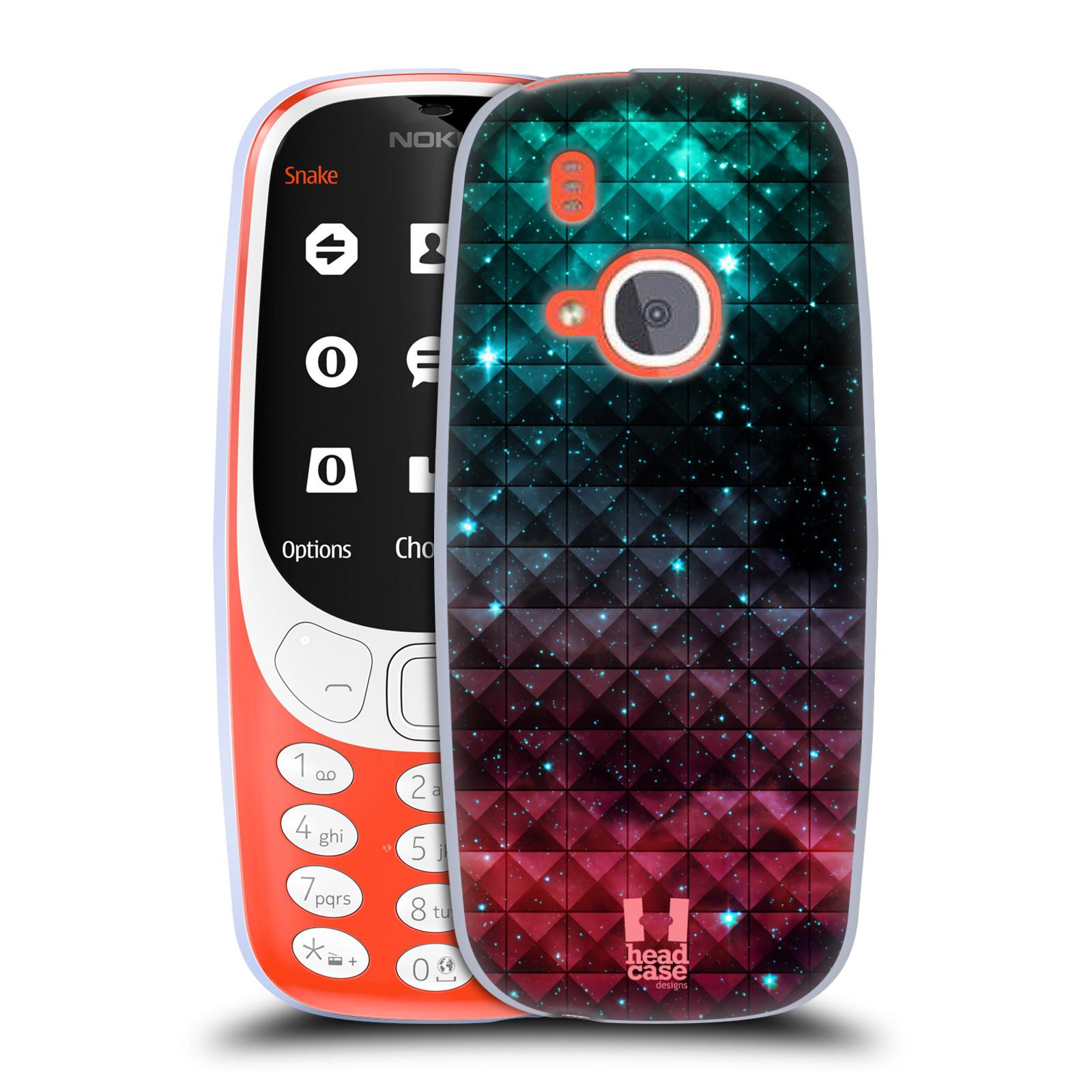 Silikonové pouzdro na mobil Nokia 3310 - Head Case - OMBRE SPARKLE
