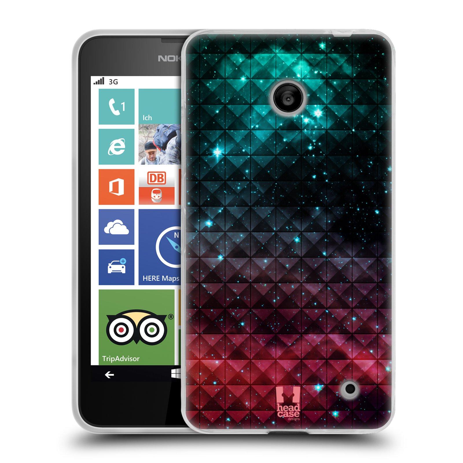 Silikonové pouzdro na mobil Nokia Lumia 630 HEAD CASE OMBRE SPARKLE (Silikonový kryt či obal na mobilní telefon Nokia Lumia 630 a Nokia Lumia 630 Dual SIM)