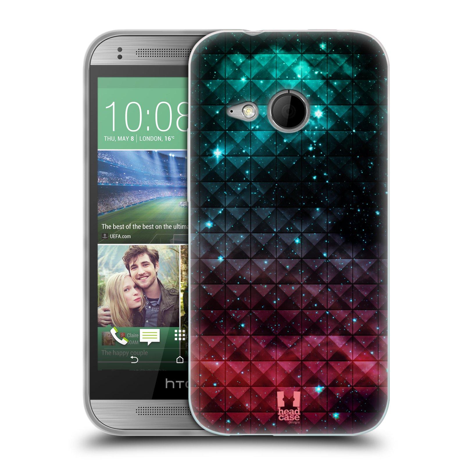 Silikonové pouzdro na mobil HTC ONE Mini 2 HEAD CASE OMBRE SPARKLE (Silikonový kryt či obal na mobilní telefon HTC ONE Mini 2)
