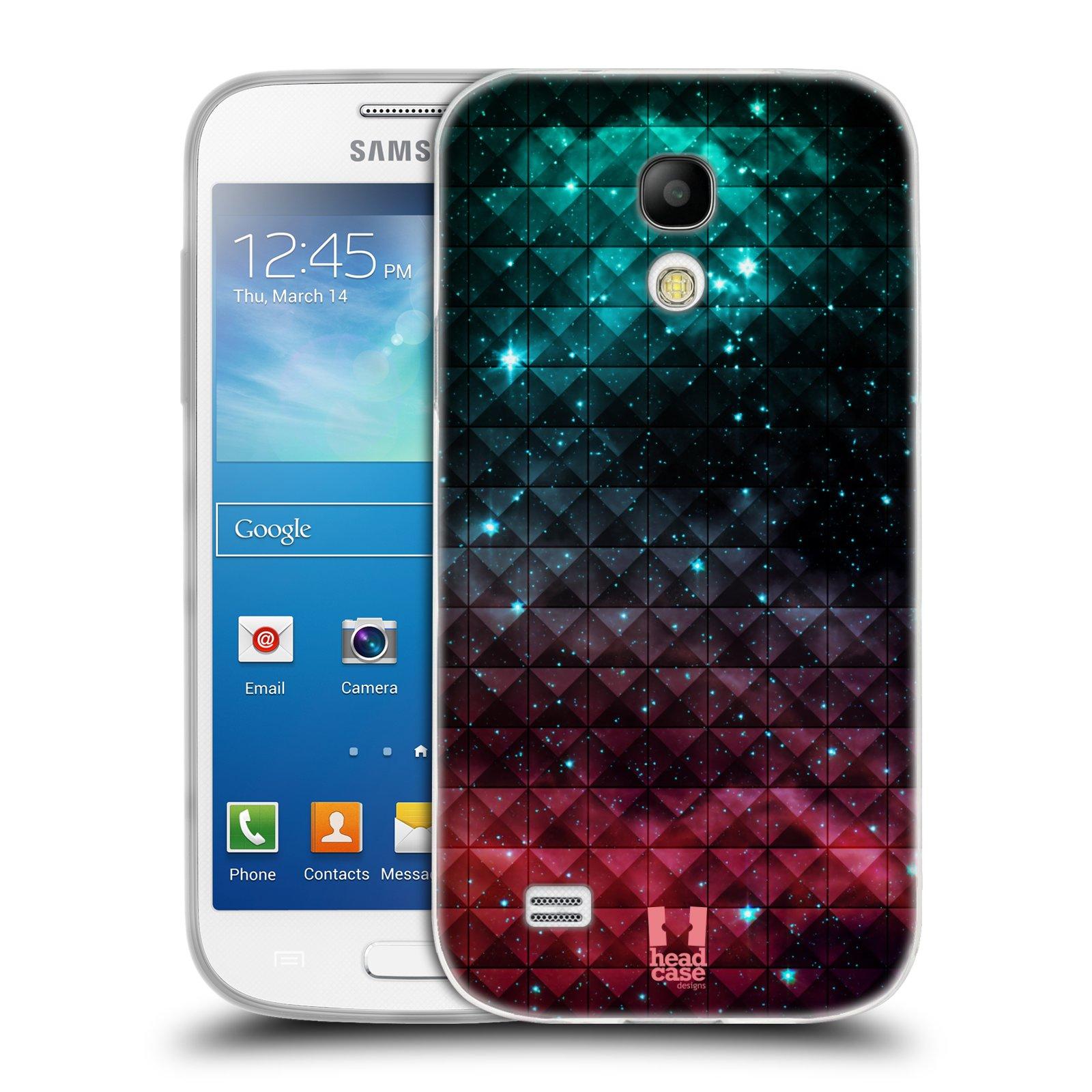Silikonové pouzdro na mobil Samsung Galaxy S4 Mini HEAD CASE OMBRE SPARKLE (Silikonový kryt či obal na mobilní telefon Samsung Galaxy S4 Mini GT-i9195 / i9190 (nepasuje na verzi Black Edition))