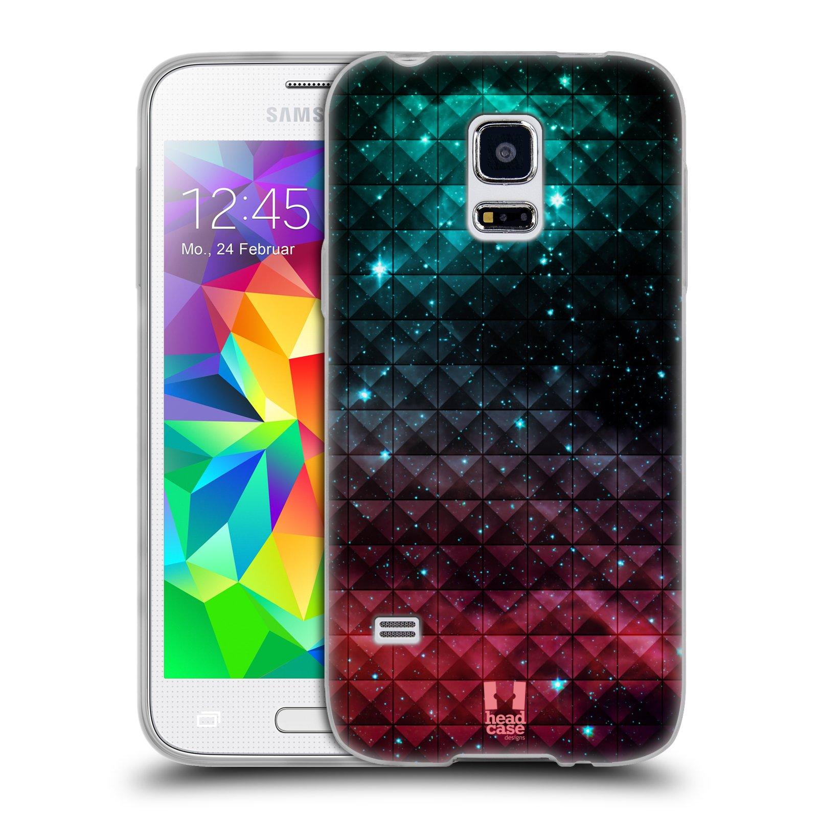 Silikonové pouzdro na mobil Samsung Galaxy S5 Mini HEAD CASE OMBRE SPARKLE (Silikonový kryt či obal na mobilní telefon Samsung Galaxy S5 Mini SM-G800F)
