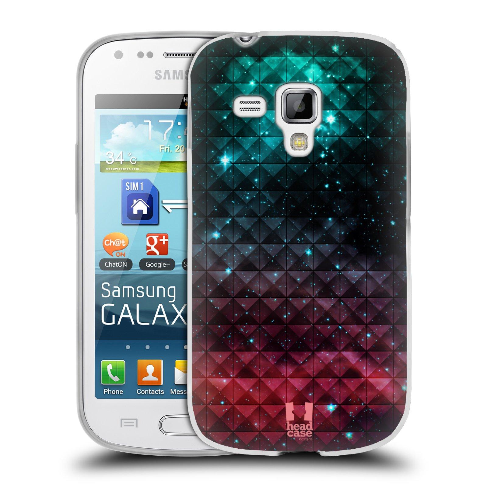 Silikonové pouzdro na mobil Samsung Galaxy S Duos 2 HEAD CASE OMBRE SPARKLE (Silikonový kryt či obal na mobilní telefon Samsung Galaxy S Duos 2 GT-S7582)