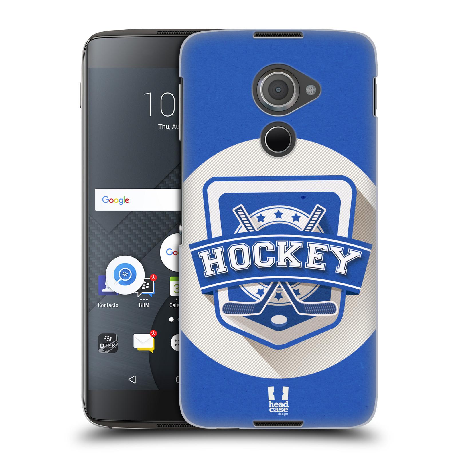 Plastové pouzdro na mobil Blackberry DTEK60 (Argon) - Head Case HOKEJ (Plastový kryt či obal na mobilní telefon Blackberry DTEK60 (Argon))