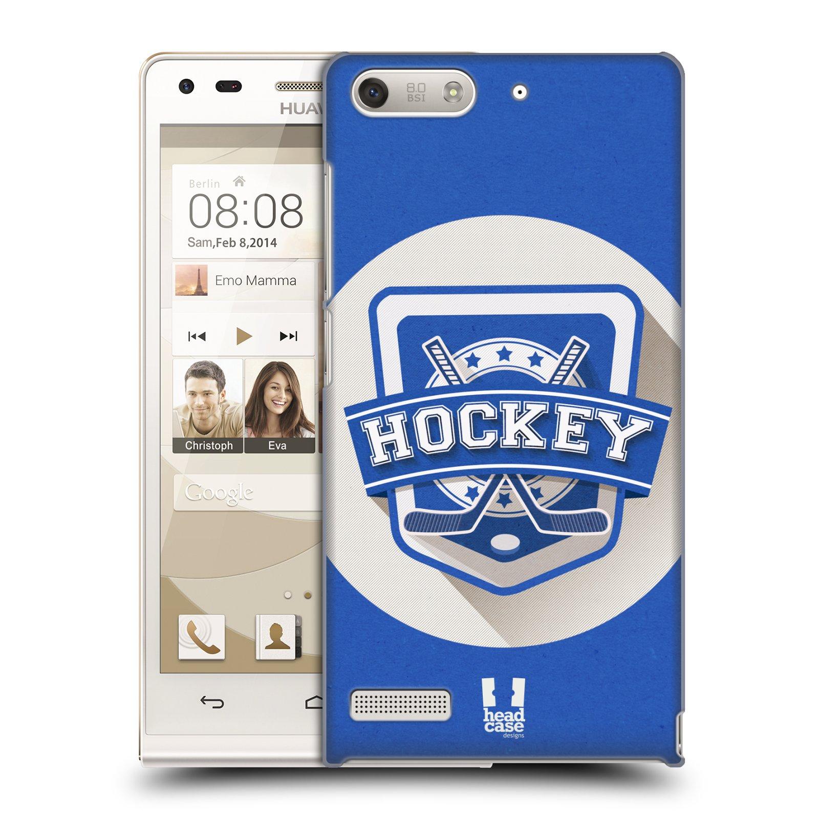 Plastové pouzdro na mobil Huawei Ascend G6 HEAD CASE HOKEJ (Kryt či obal na mobilní telefon Huawei Ascend G6 bez LTE)