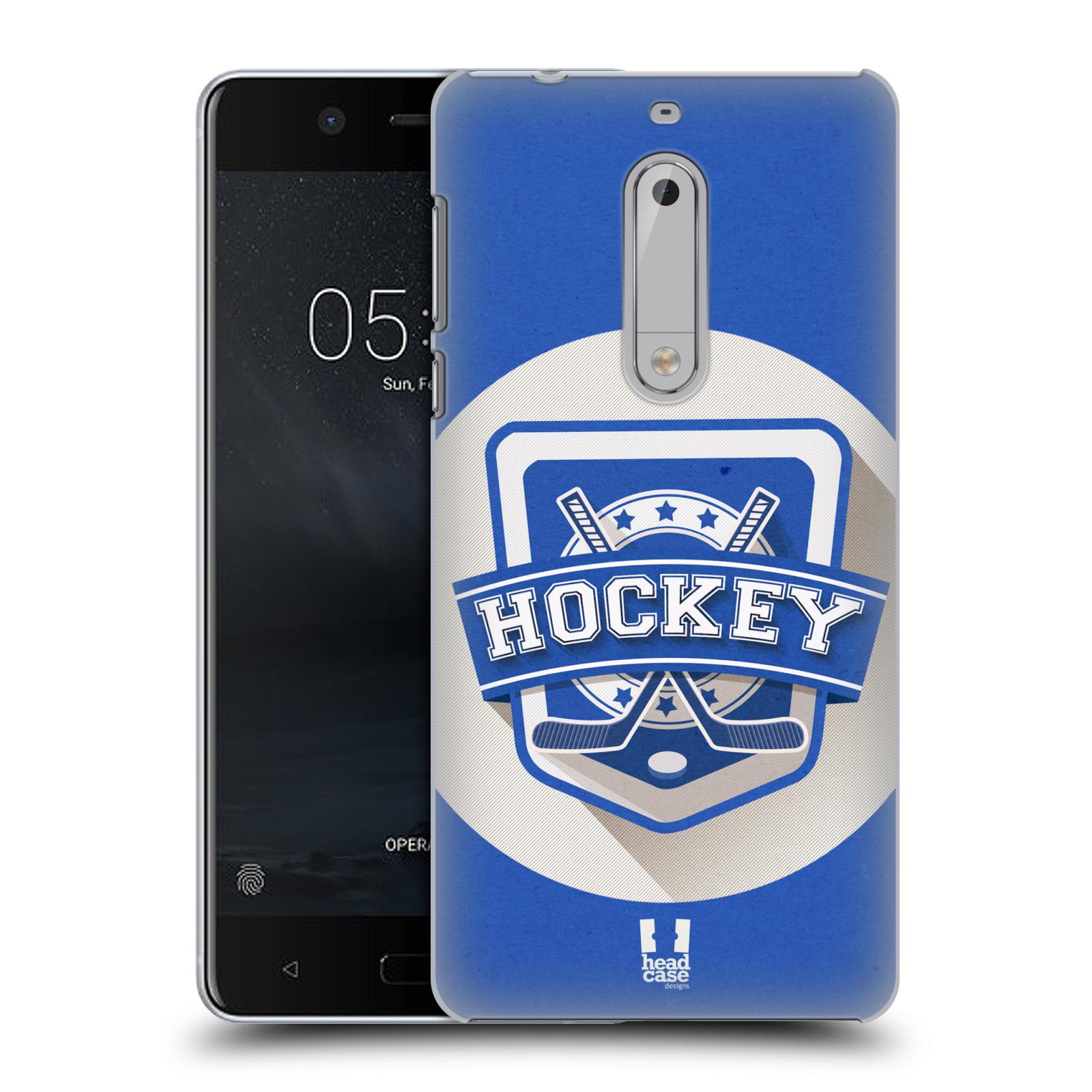 Plastové pouzdro na mobil Nokia 5 Head Case - HOKEJ (Plastový kryt či obal na mobilní telefon Nokia 5 (2017))