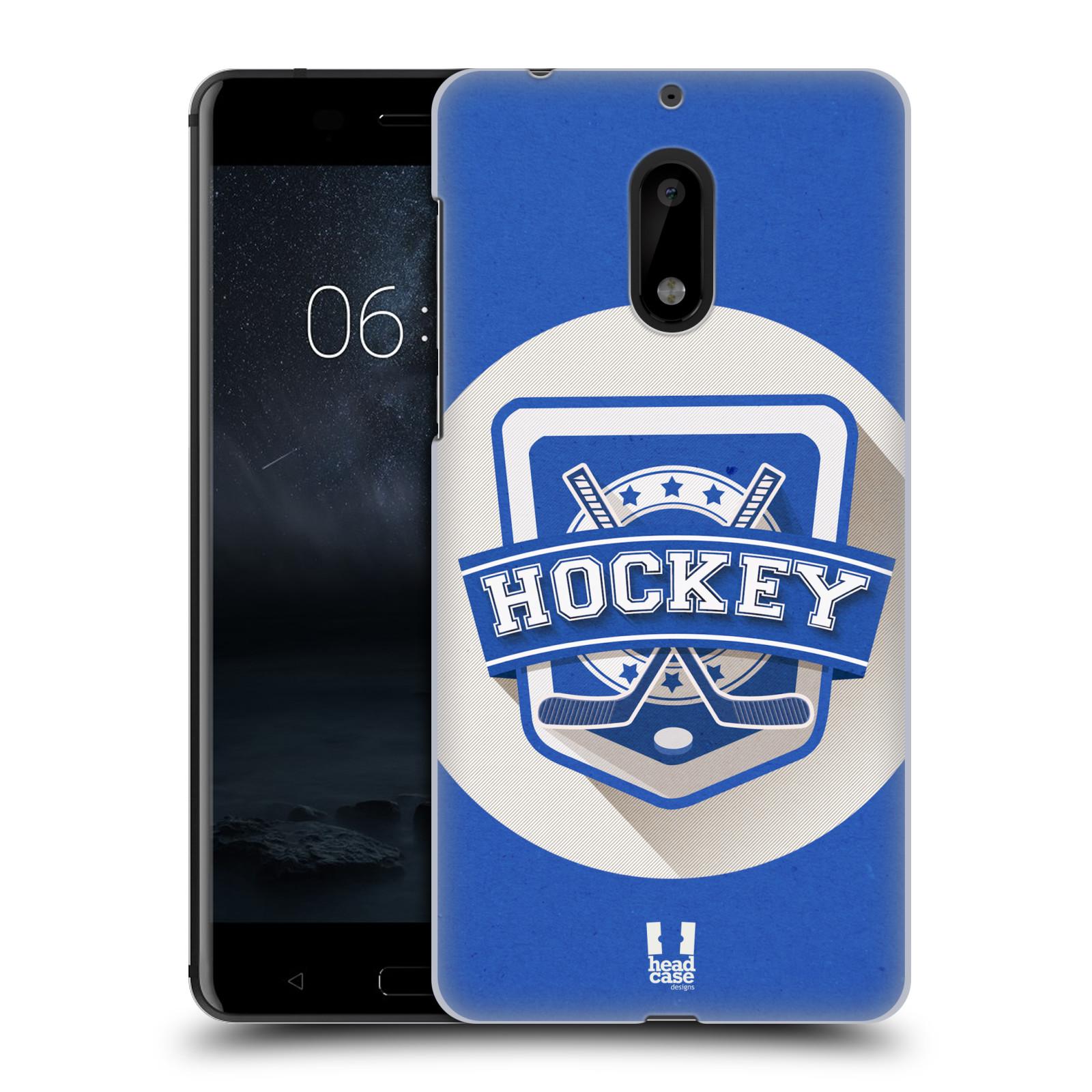 Plastové pouzdro na mobil Nokia 6 - Head Case HOKEJ (Plastový kryt či obal na mobilní telefon Nokia 6 (Dual SIM))