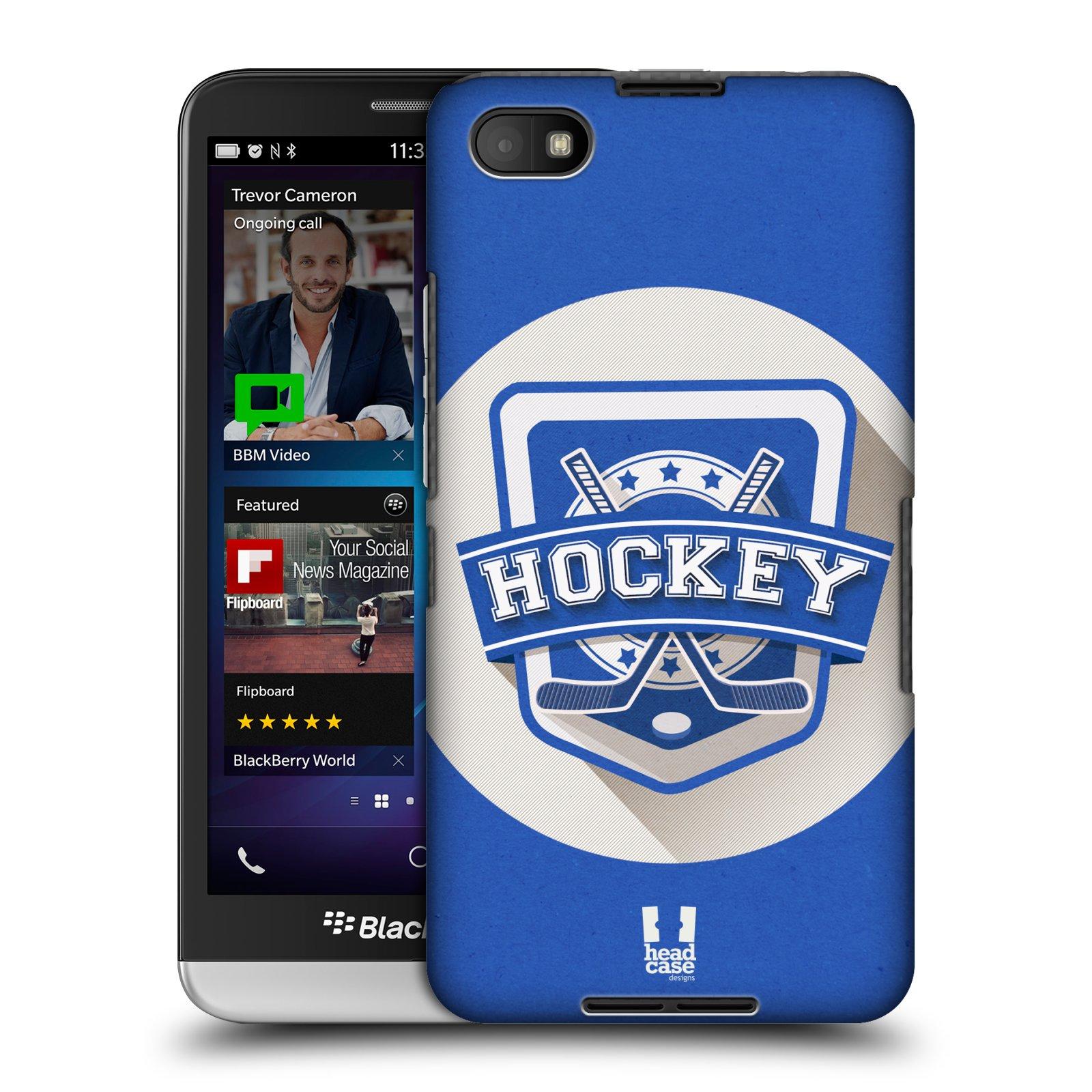 Plastové pouzdro na mobil Blackberry Z30 HEAD CASE HOKEJ (Kryt či obal na mobilní telefon Blackberry Z30)