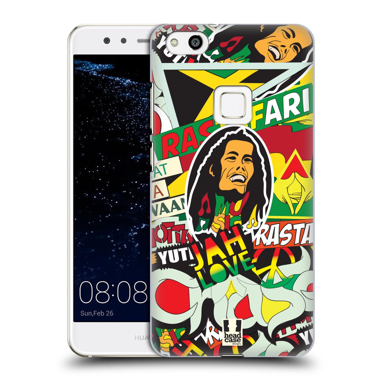 Plastové pouzdro na mobil Huawei P10 Lite Head Case - RASTA (Plastový kryt či obal na mobilní telefon Huawei P10 Lite Dual SIM (LX1/LX1A))