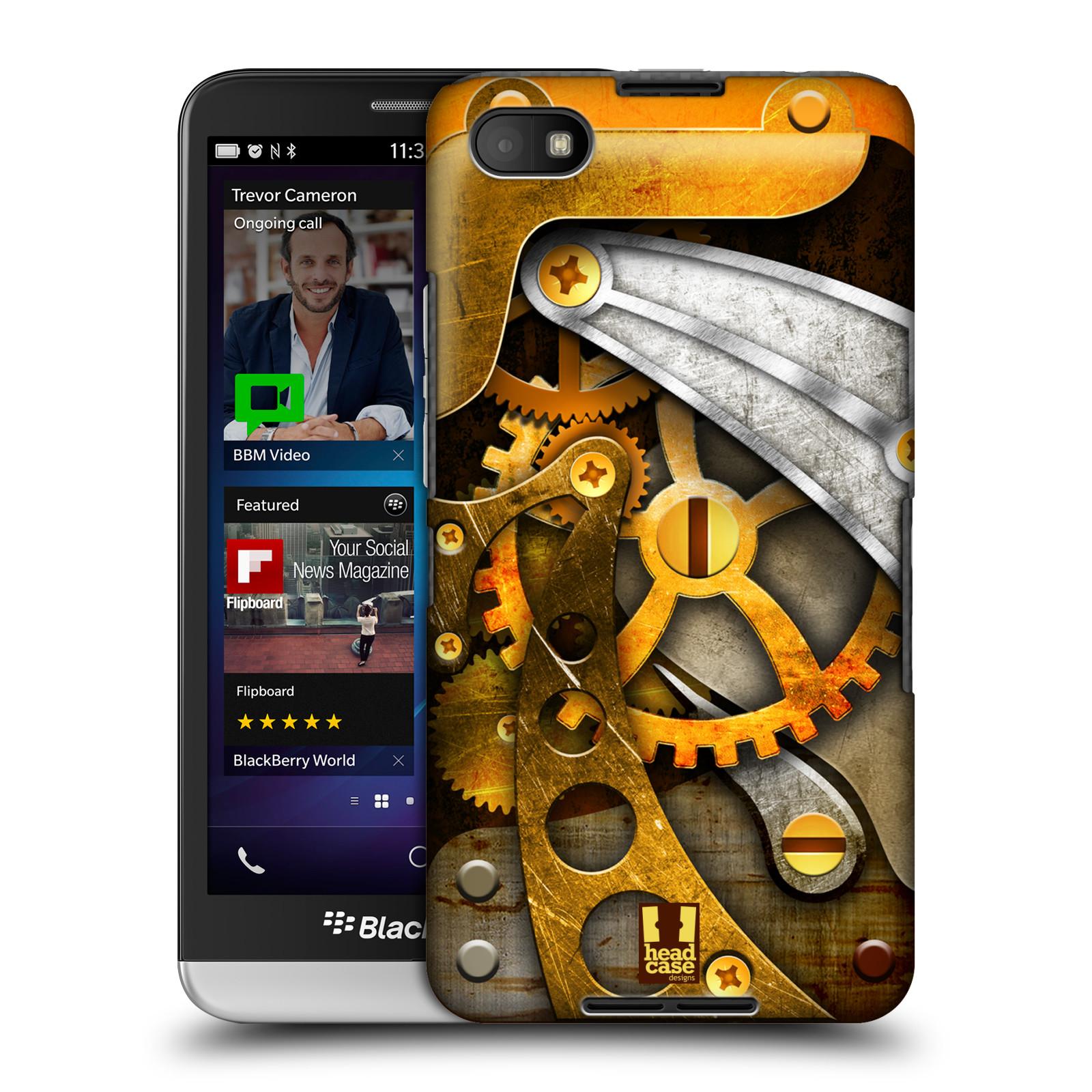 Plastové pouzdro na mobil Blackberry Z30 HEAD CASE STEAMPUNK KOLEČKA (Kryt či obal na mobilní telefon Blackberry Z30)