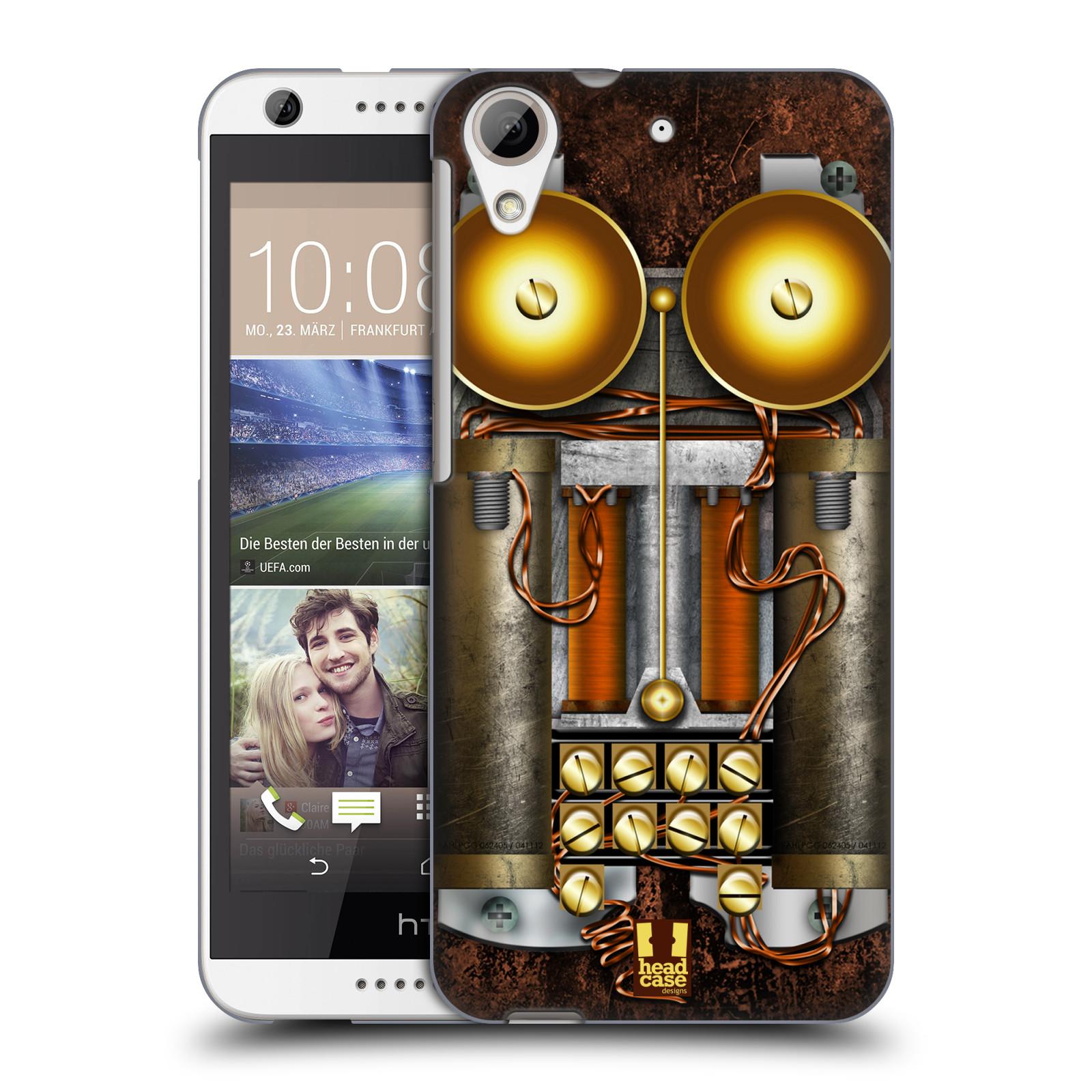 Plastové pouzdro na mobil HTC Desire 626 / 626G HEAD CASE STEAMPUNK TELEFON (Kryt či obal na mobilní telefon HTC Desire 626G Dual SIM a HTC Desire 626)