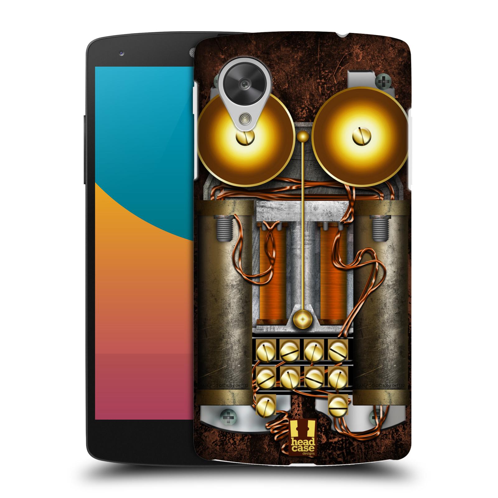 Plastové pouzdro na mobil LG Nexus 5 HEAD CASE STEAMPUNK TELEFON (Kryt či obal na mobilní telefon LG Google Nexus 5 D821)