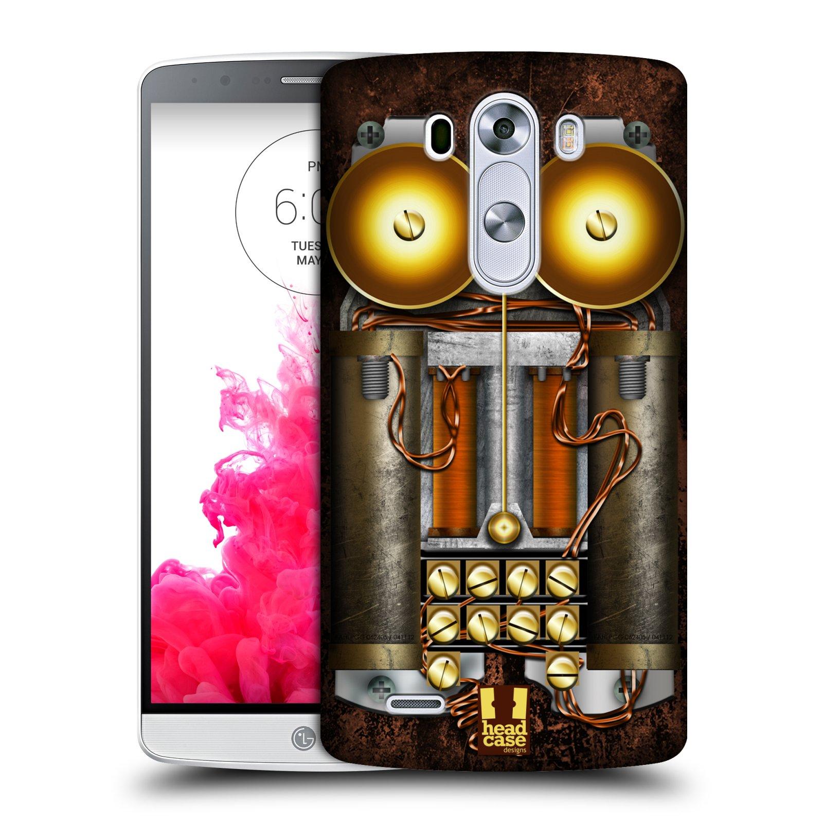 Plastové pouzdro na mobil LG G3 HEAD CASE STEAMPUNK TELEFON (Kryt či obal na mobilní telefon LG G3 D855)