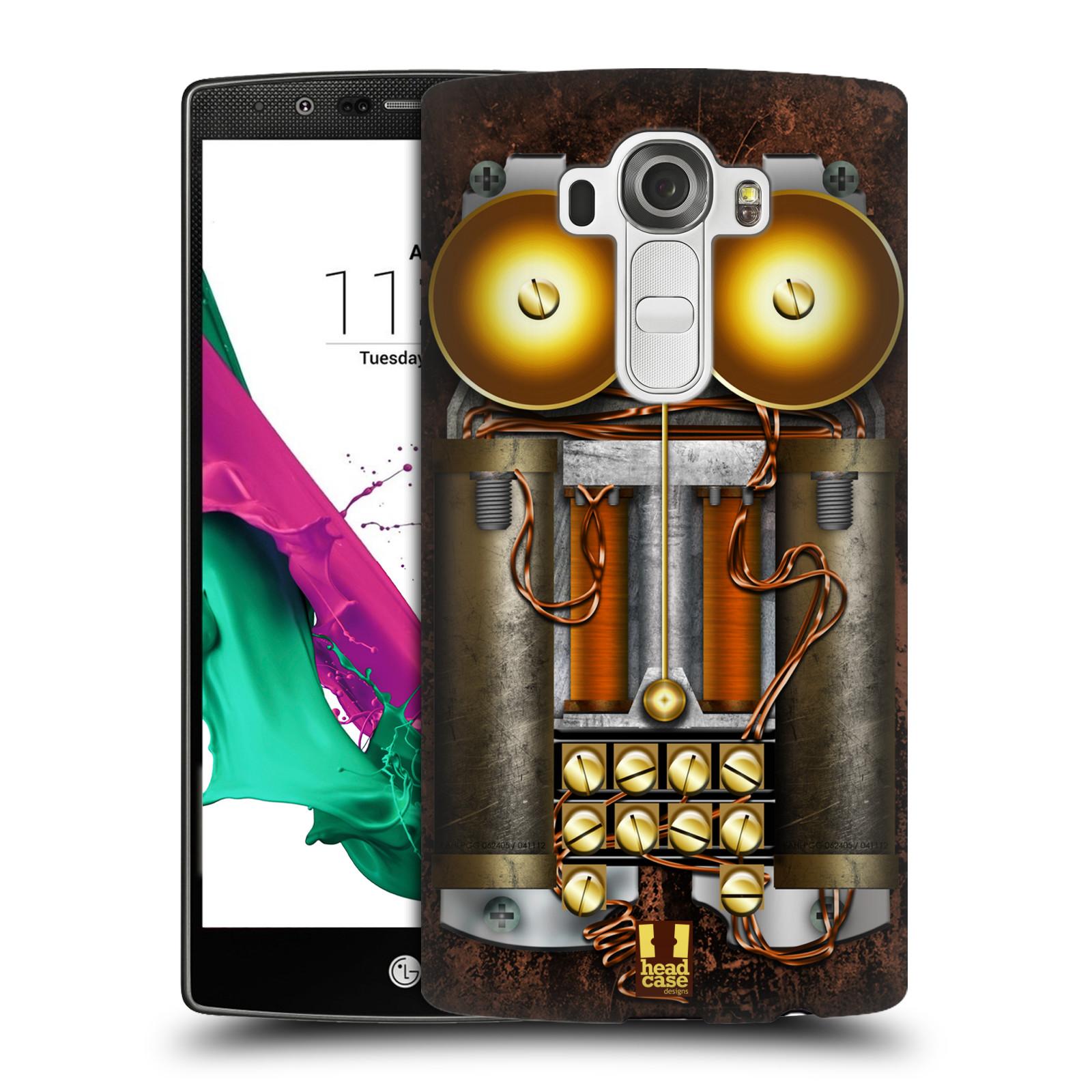 Plastové pouzdro na mobil LG G4 HEAD CASE STEAMPUNK TELEFON (Kryt či obal na mobilní telefon LG G4 H815)