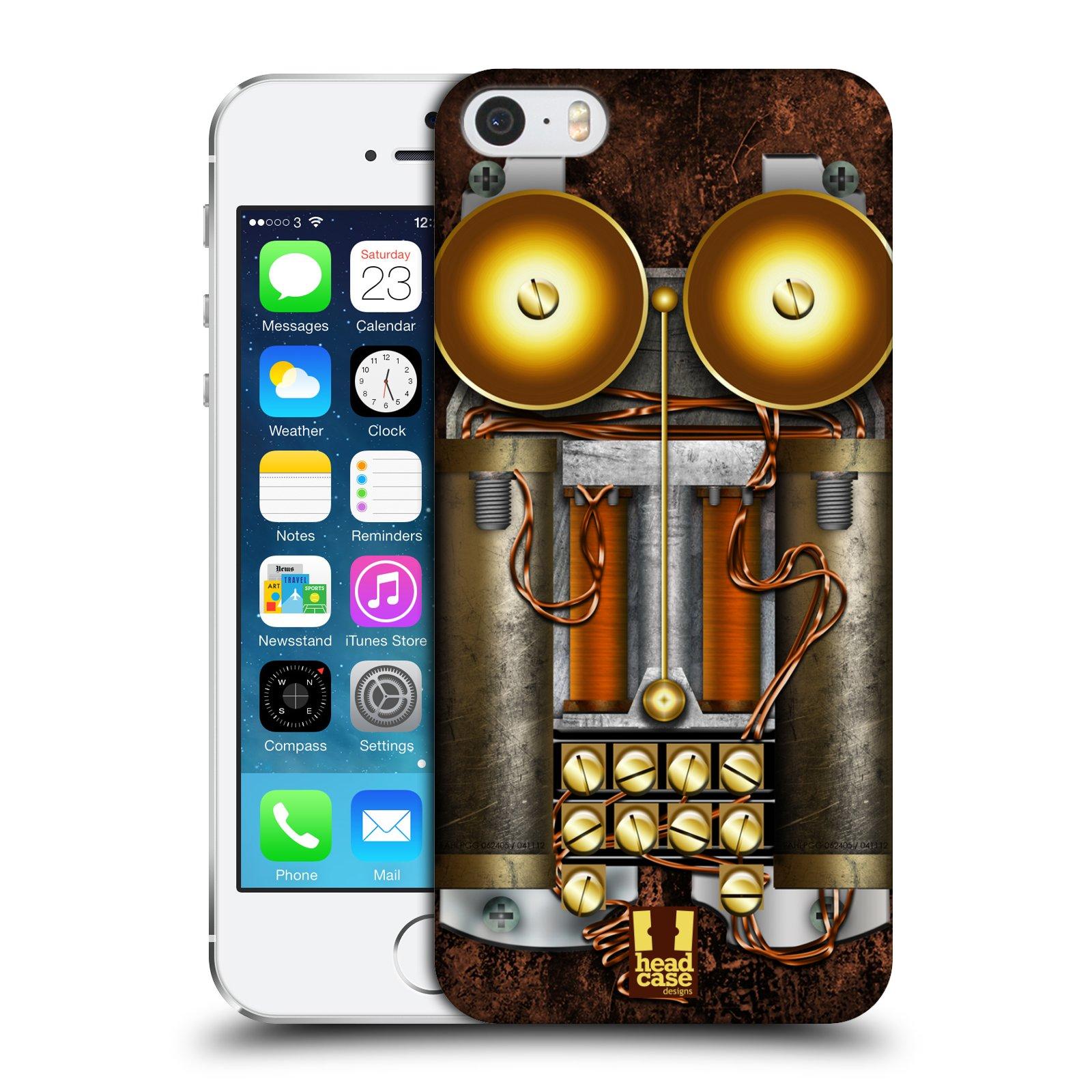 Plastové pouzdro na mobil Apple iPhone SE, 5 a 5S HEAD CASE STEAMPUNK TELEFON (Kryt či obal na mobilní telefon Apple iPhone SE, 5 a 5S)