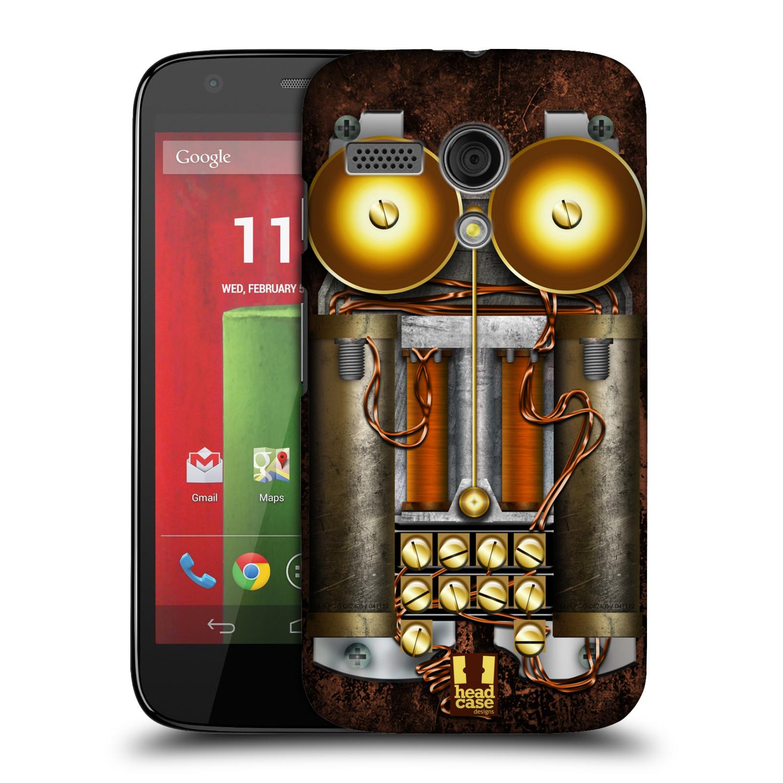 Plastové pouzdro na mobil Motorola Moto G HEAD CASE STEAMPUNK TELEFON (Kryt či obal na mobilní telefon Motorola Moto G)