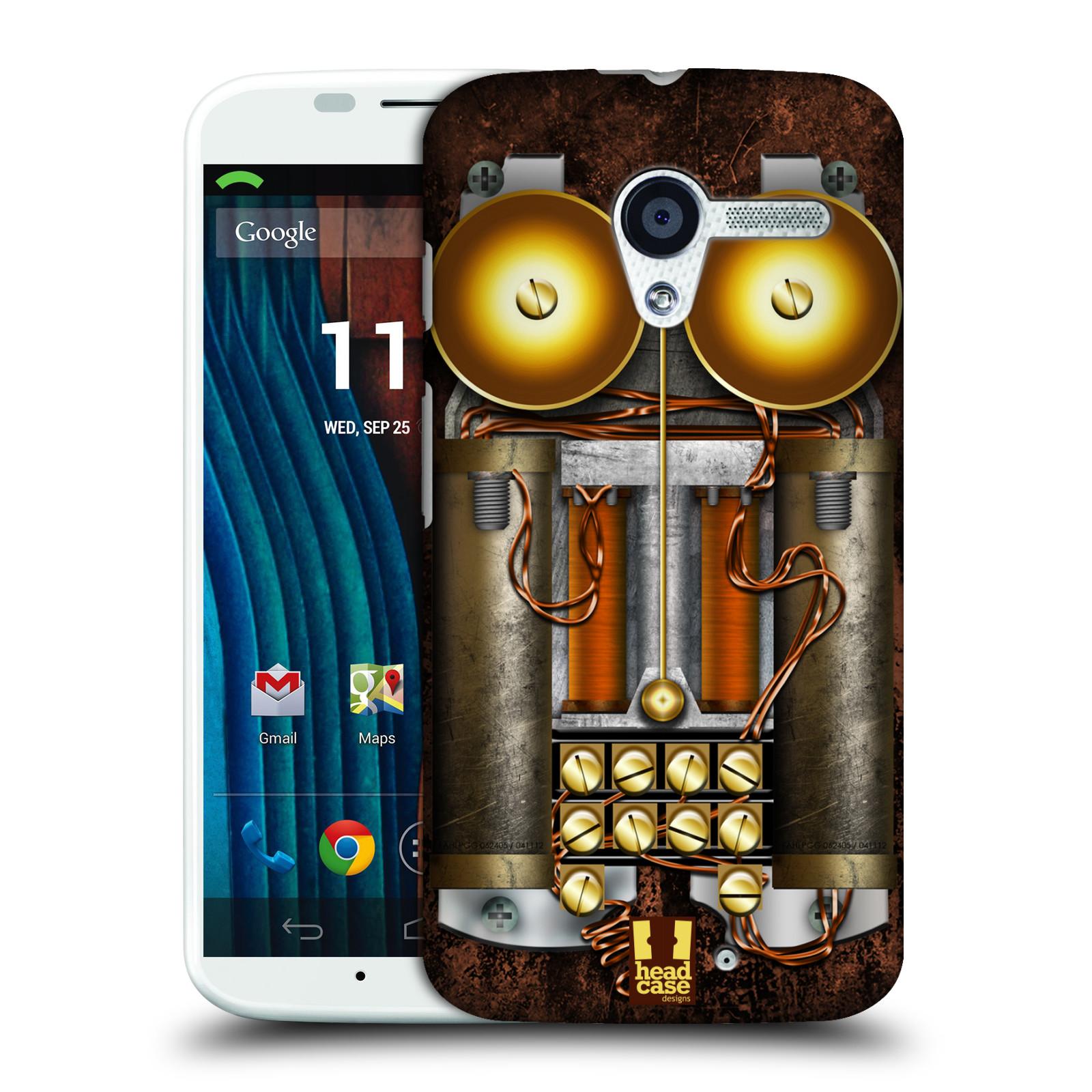 Plastové pouzdro na mobil Motorola Moto X HEAD CASE STEAMPUNK TELEFON (Kryt či obal na mobilní telefon Motorola Moto X)