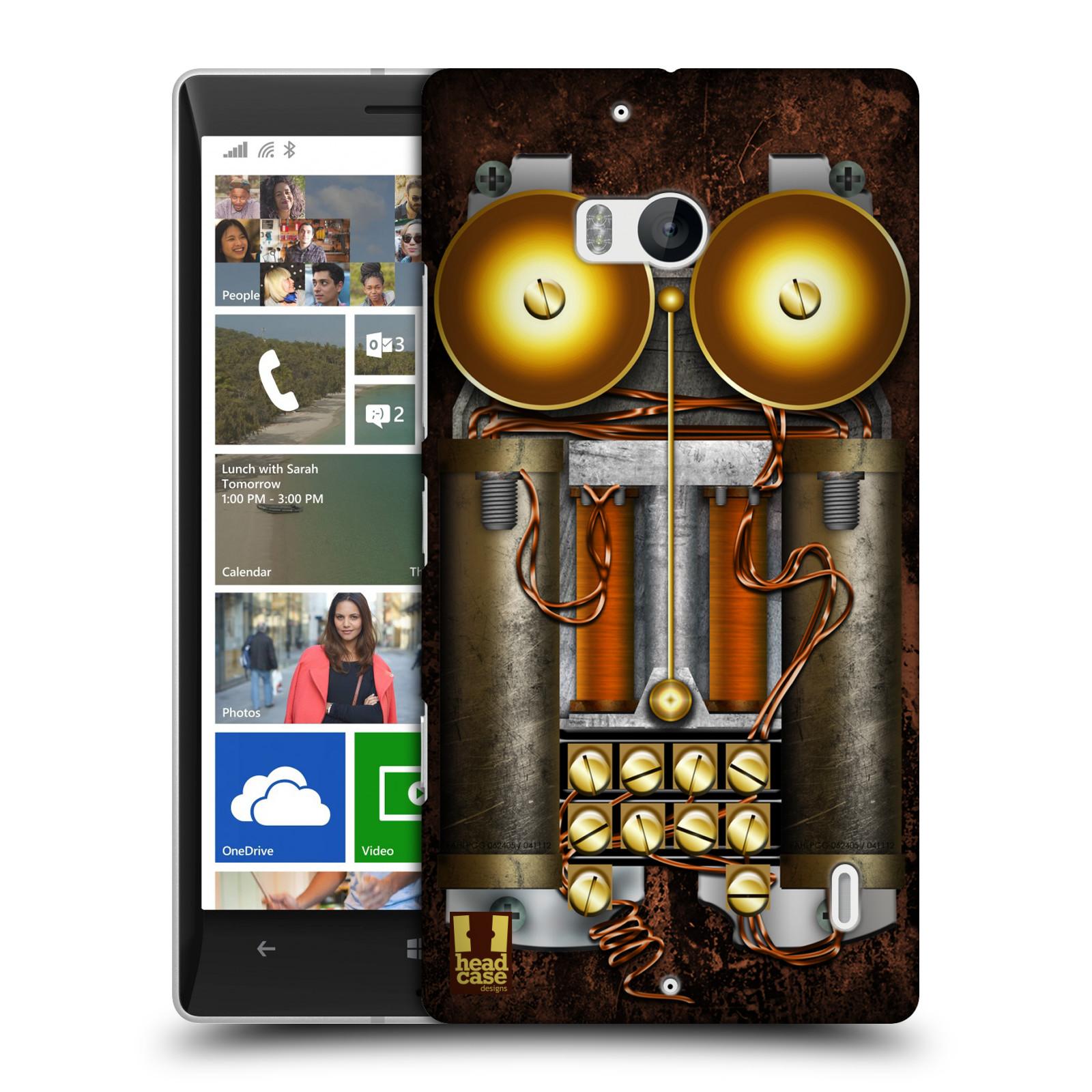 Plastové pouzdro na mobil Nokia Lumia 930 HEAD CASE STEAMPUNK TELEFON (Kryt či obal na mobilní telefon Nokia Lumia 930)